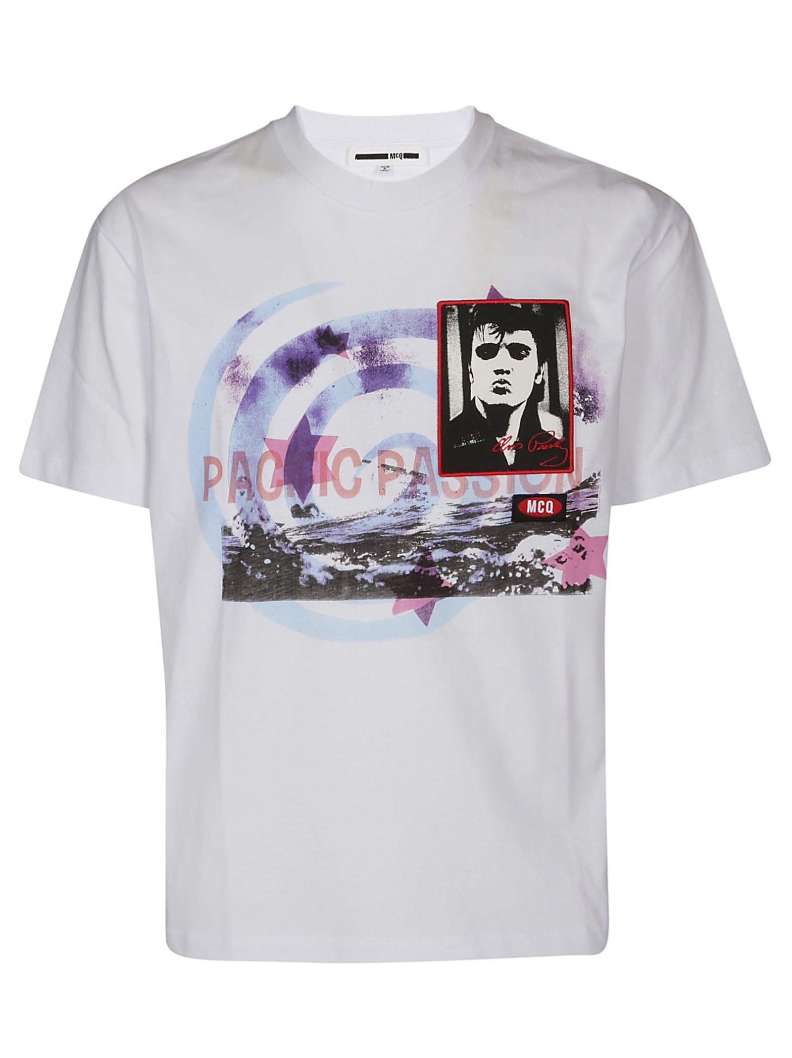 Mcq Alexander Mcqueen Elvis T-shirt