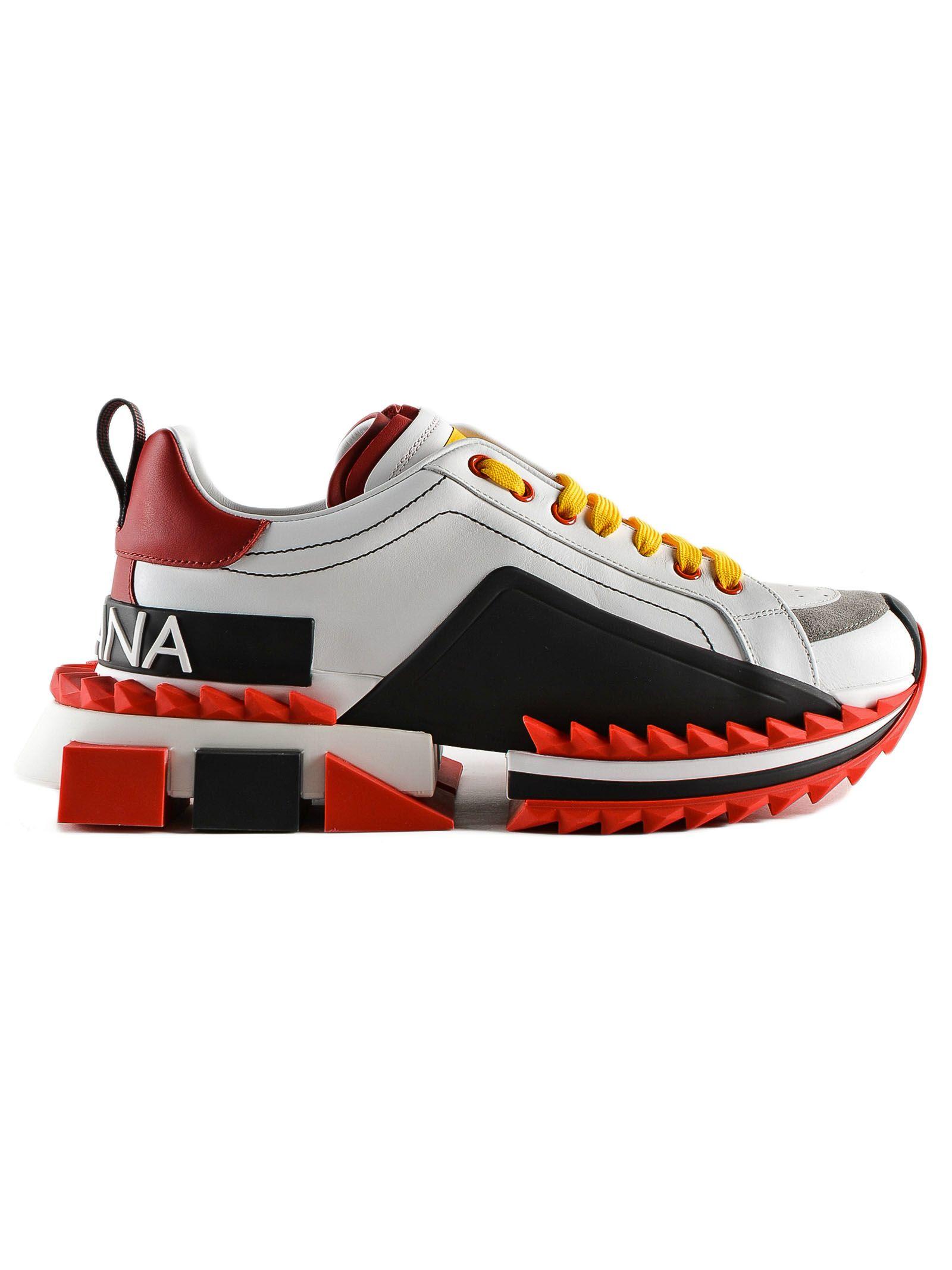 Dolce & Gabbana Ridged Sneakers