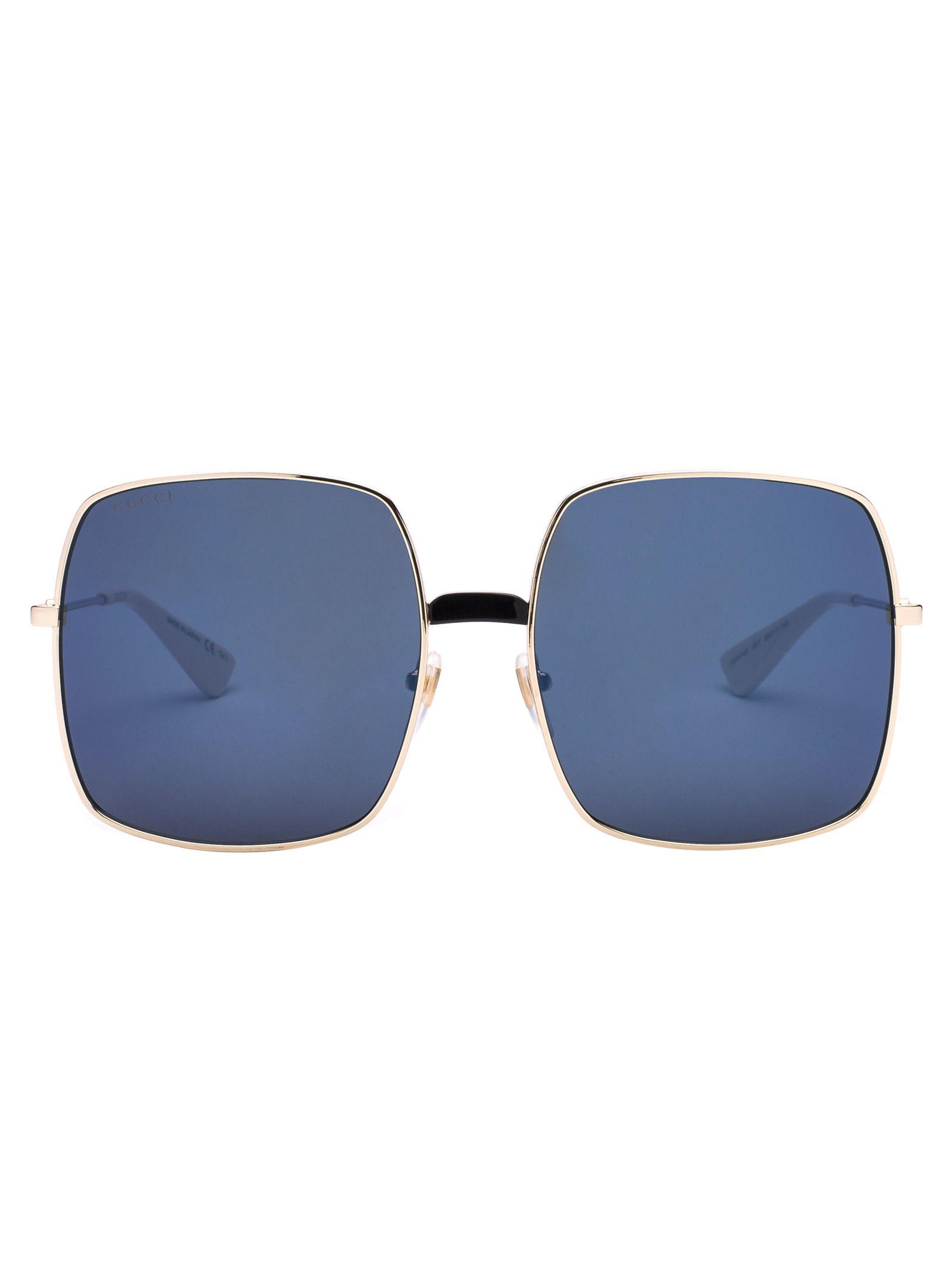Gucci Eyewear Oversized Frame Sunglasses