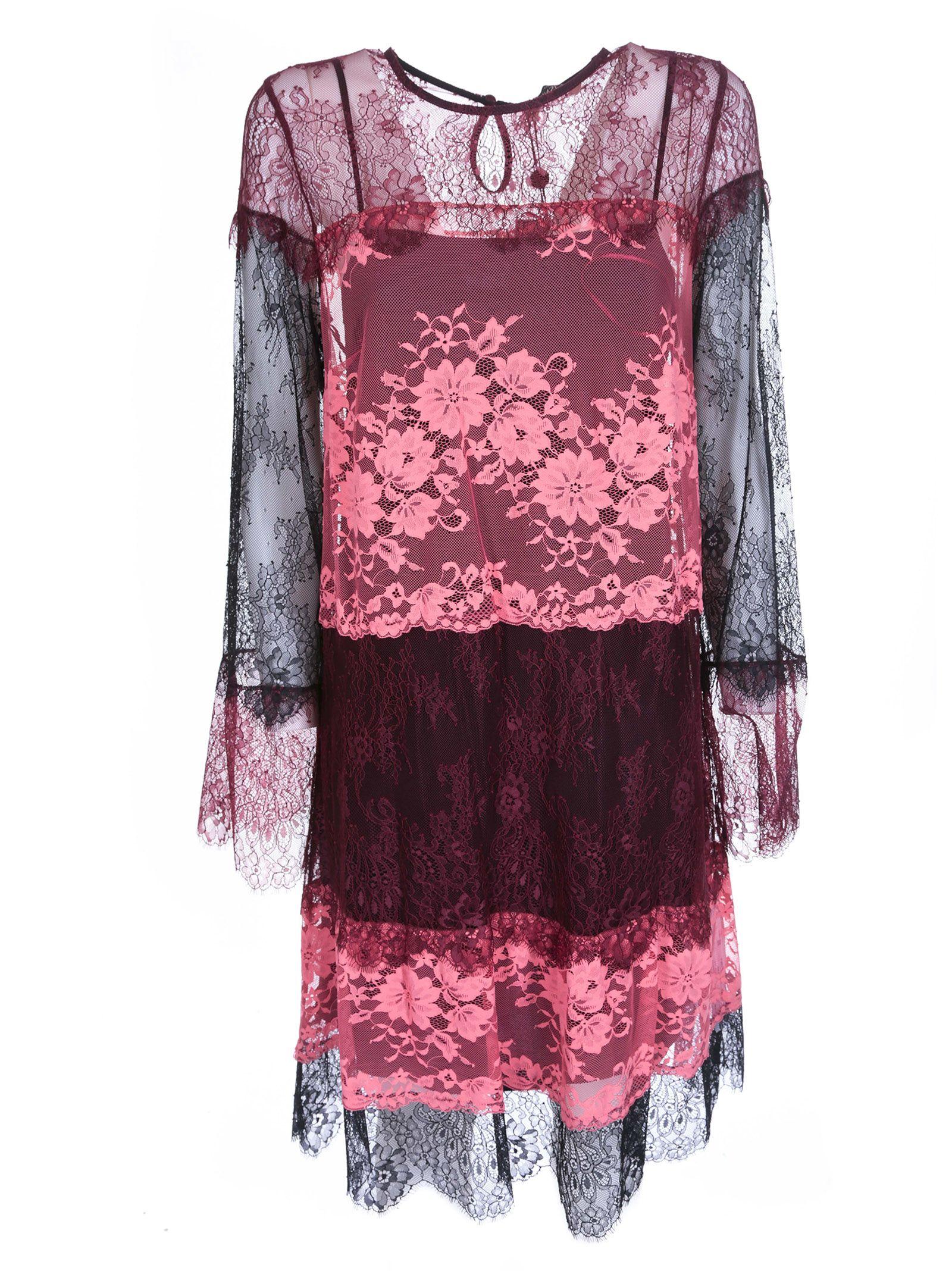 Twin-set Floral Lace Dress