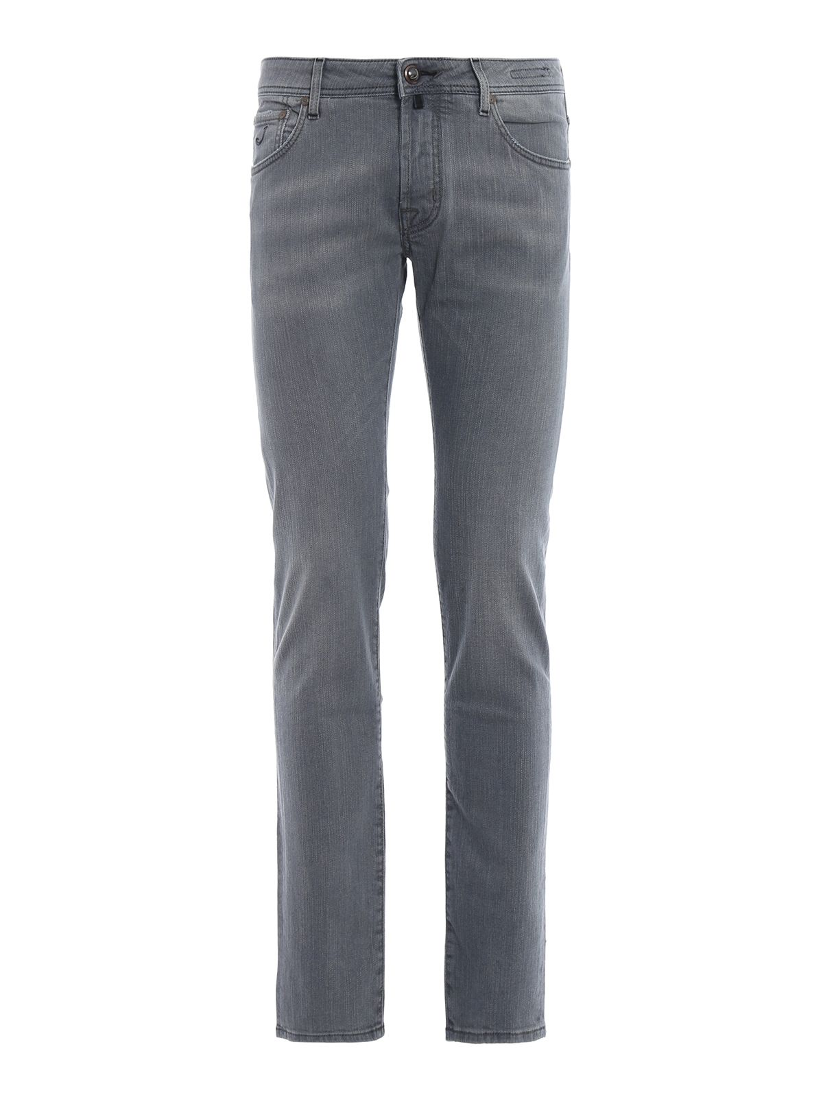 Jacob Cohen J622 Comf Grey Light Wash Tailored Jeans