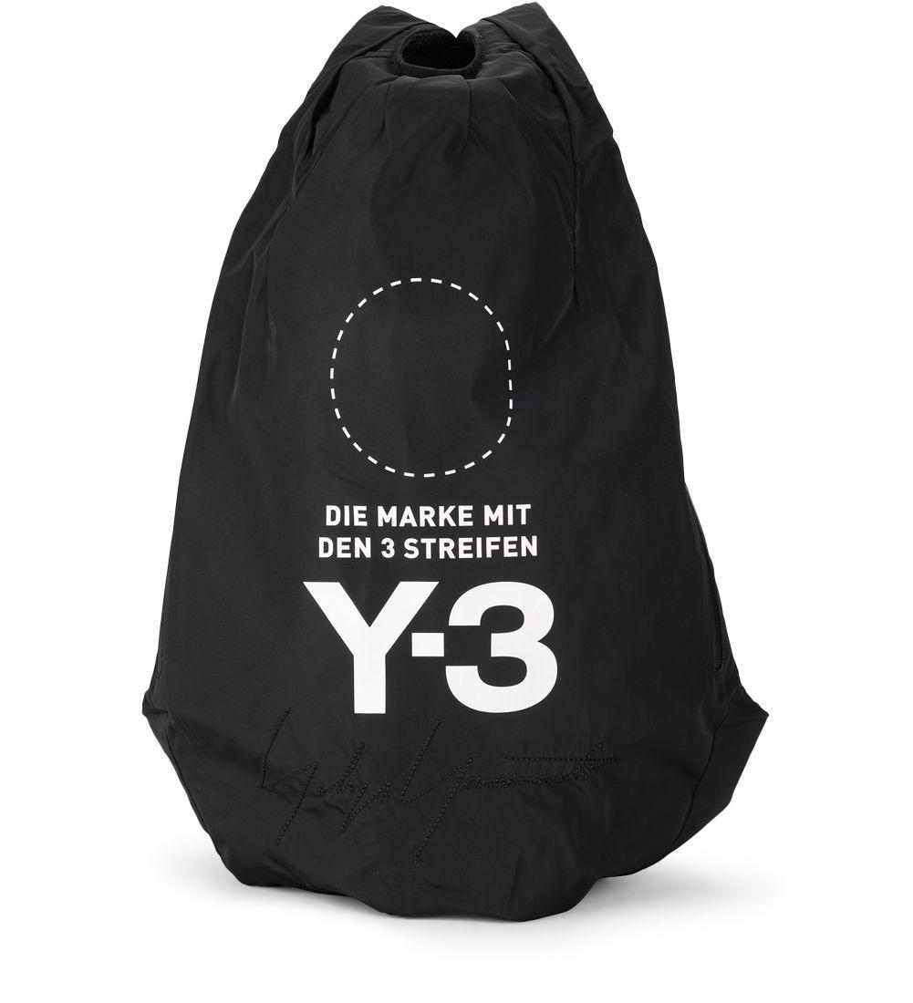 y-3 -  Yohji Backpack Black Nylon Backpack