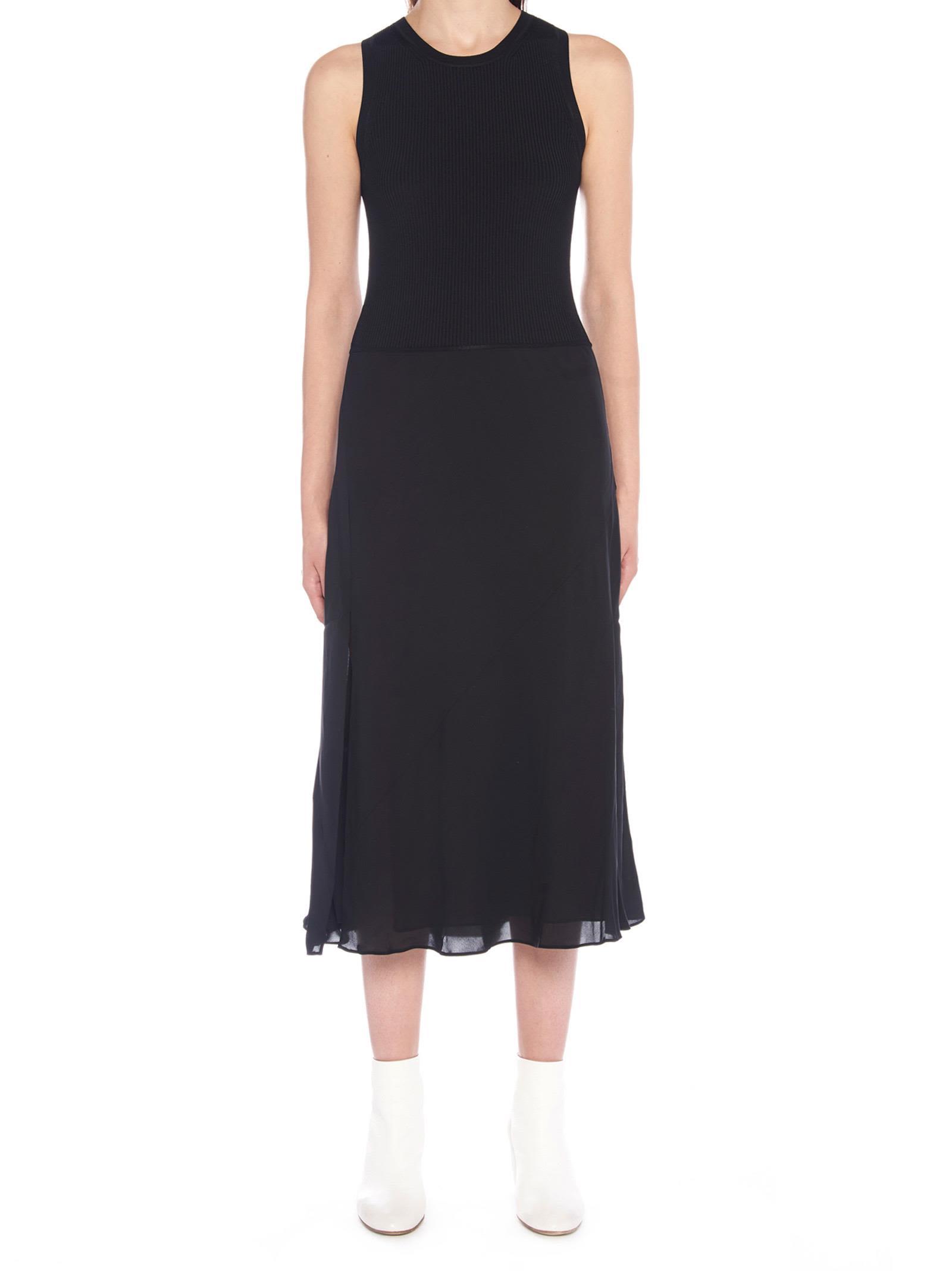 Theory 'silk Combo' Dress