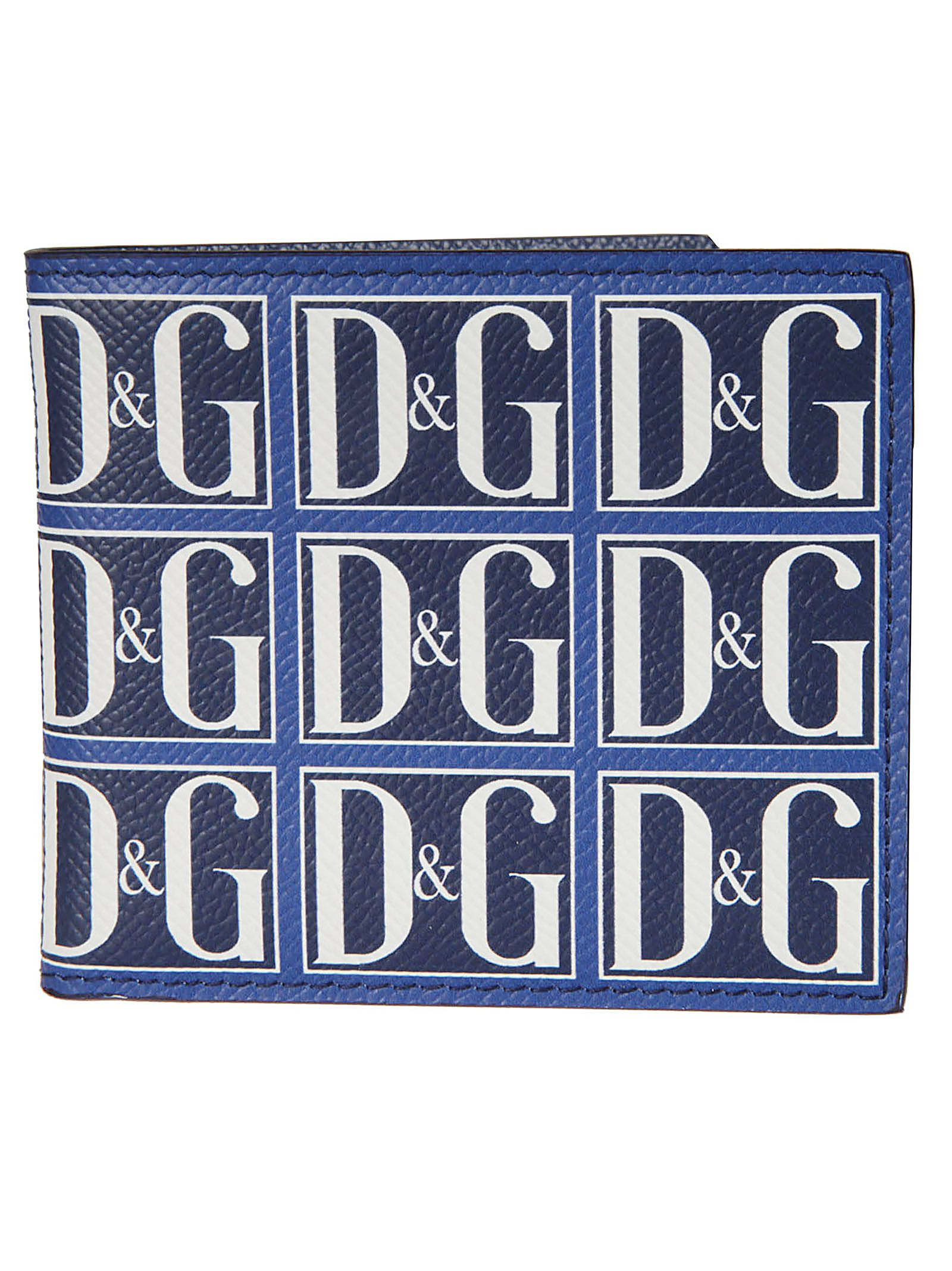 Dolce & Gabbana Logo Motif Bifold Wallet