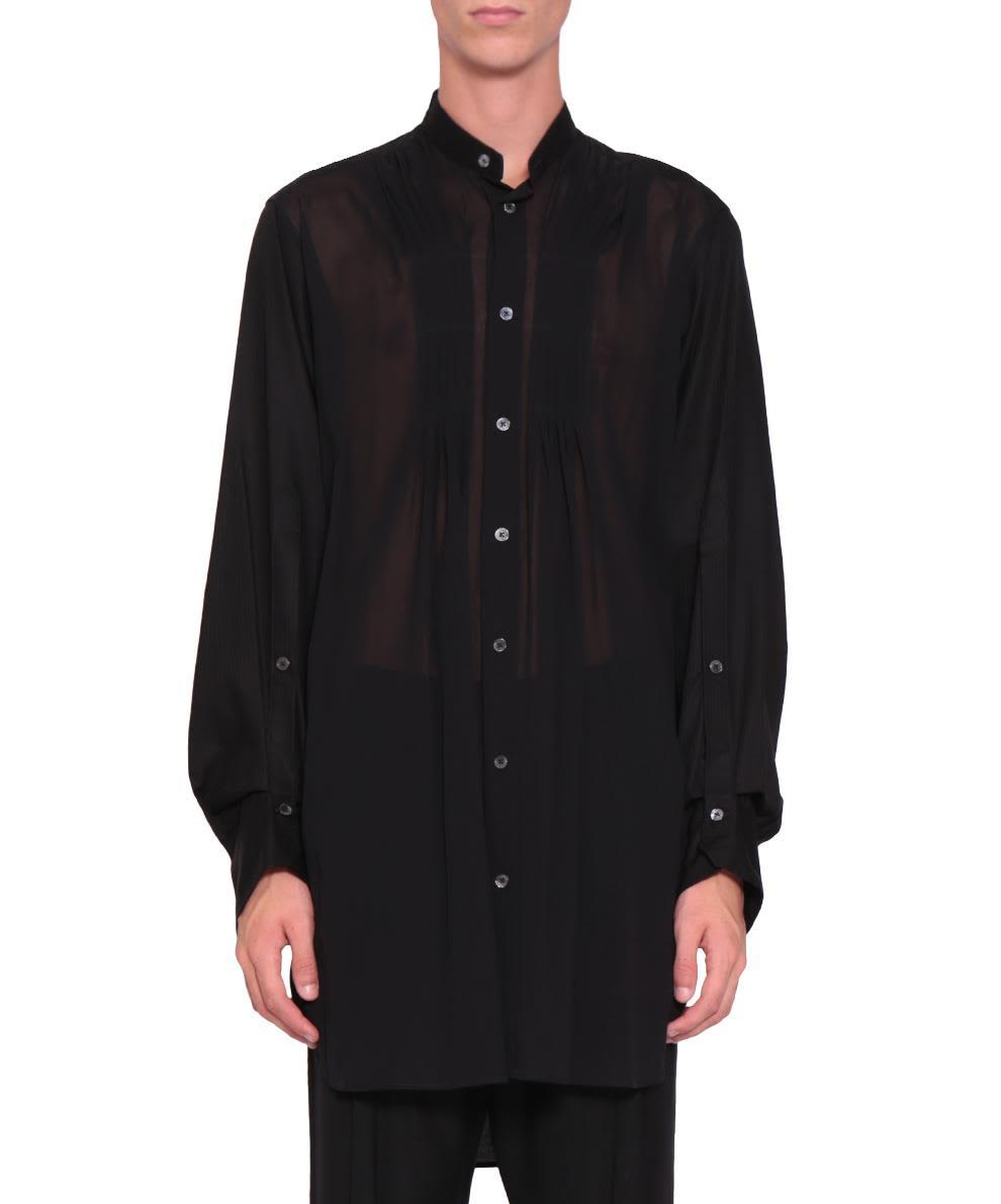 Ann Demeulemeester Black Cotton Alexis Shirt
