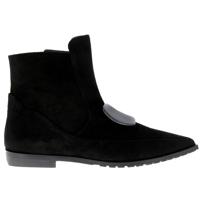 Racine Carree Flat Booties Shoes Women Racine Carree