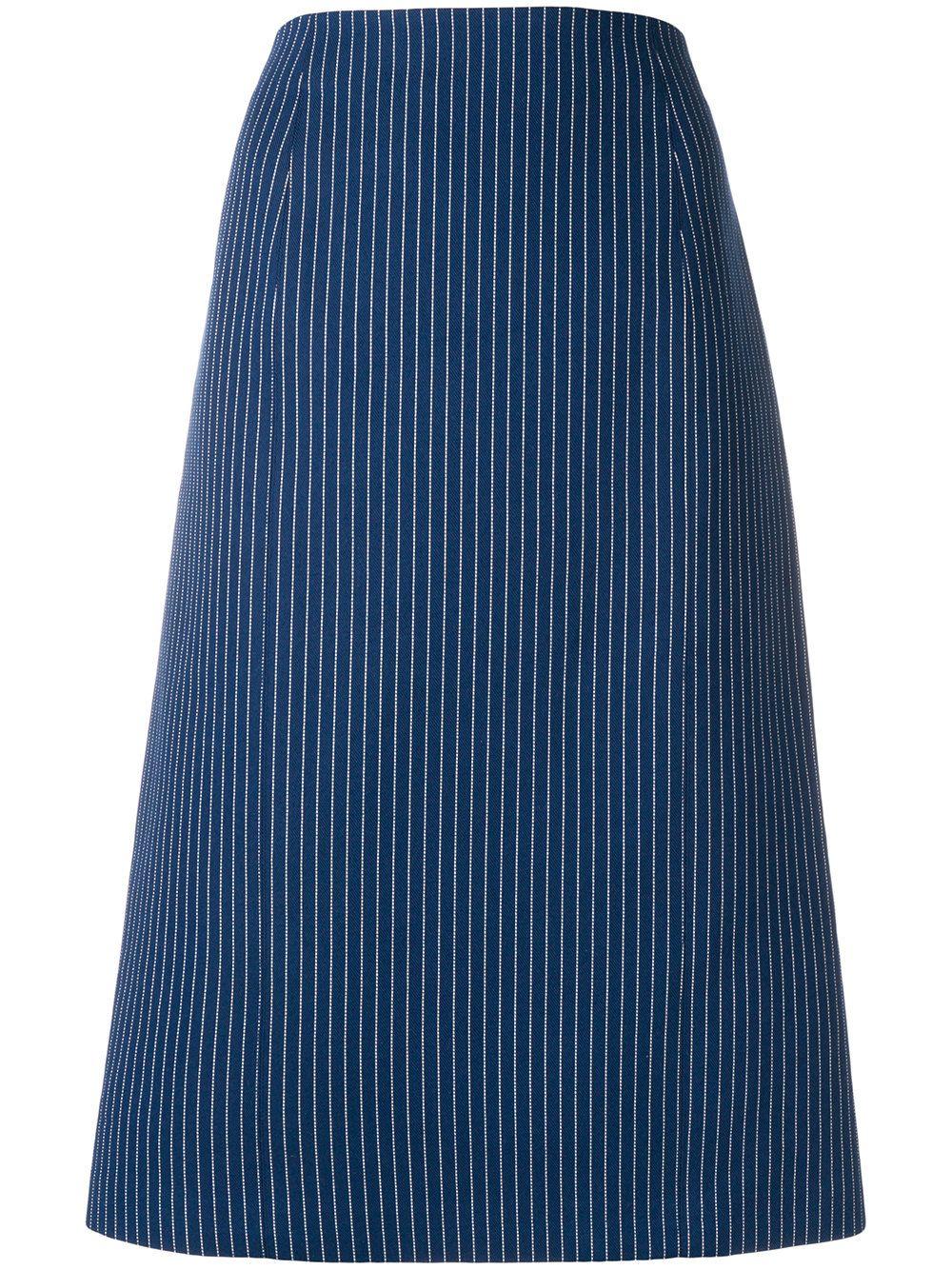 fendi - Pinstripes Skirt