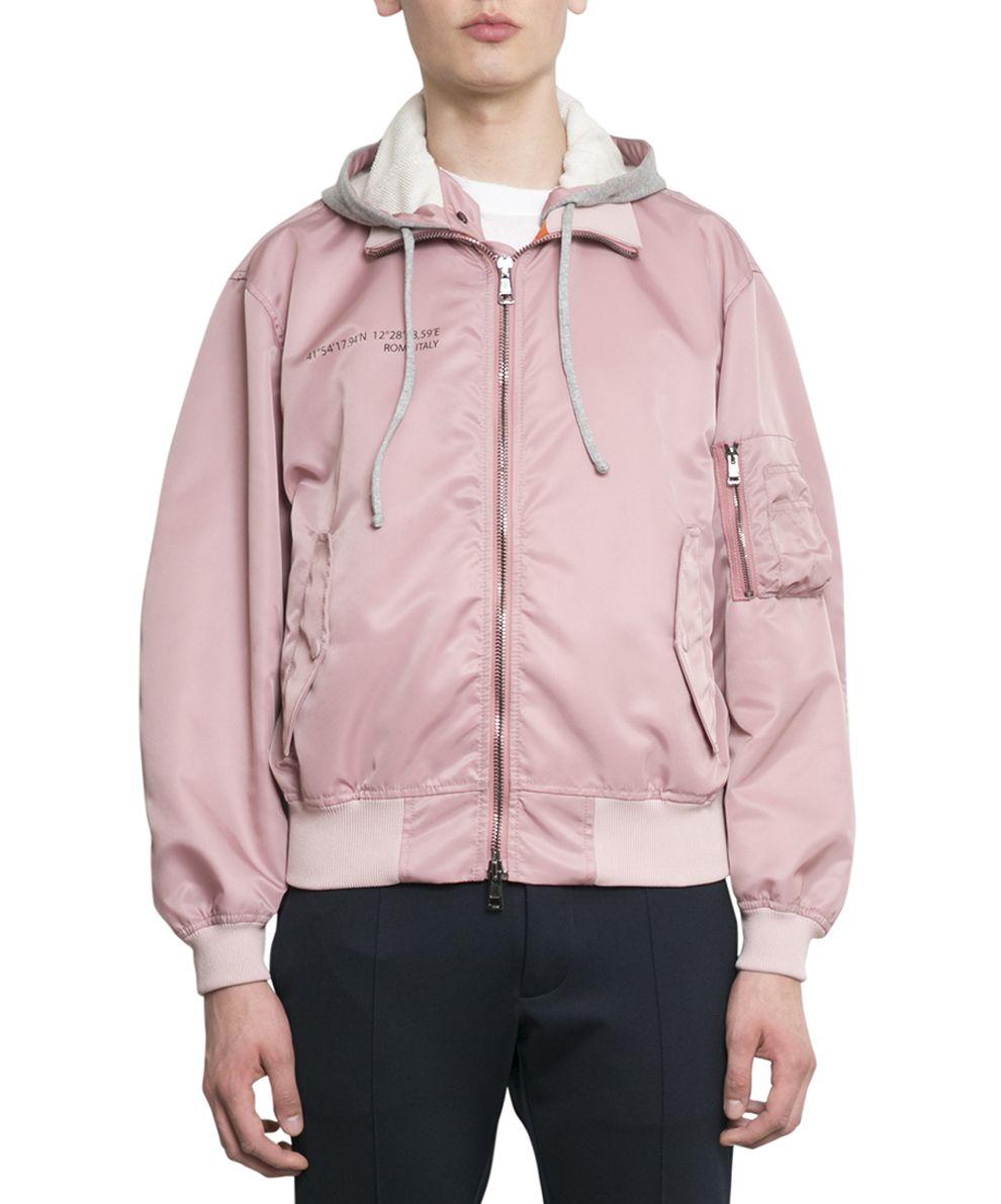 Valentino Anywhen Hooded Bomber Jacket