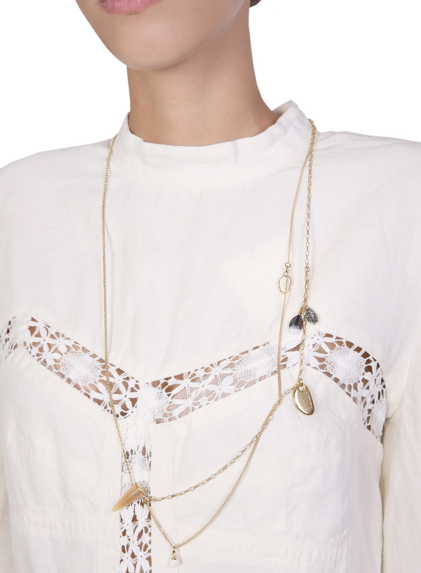 Isabel Marant Beetle Necklace