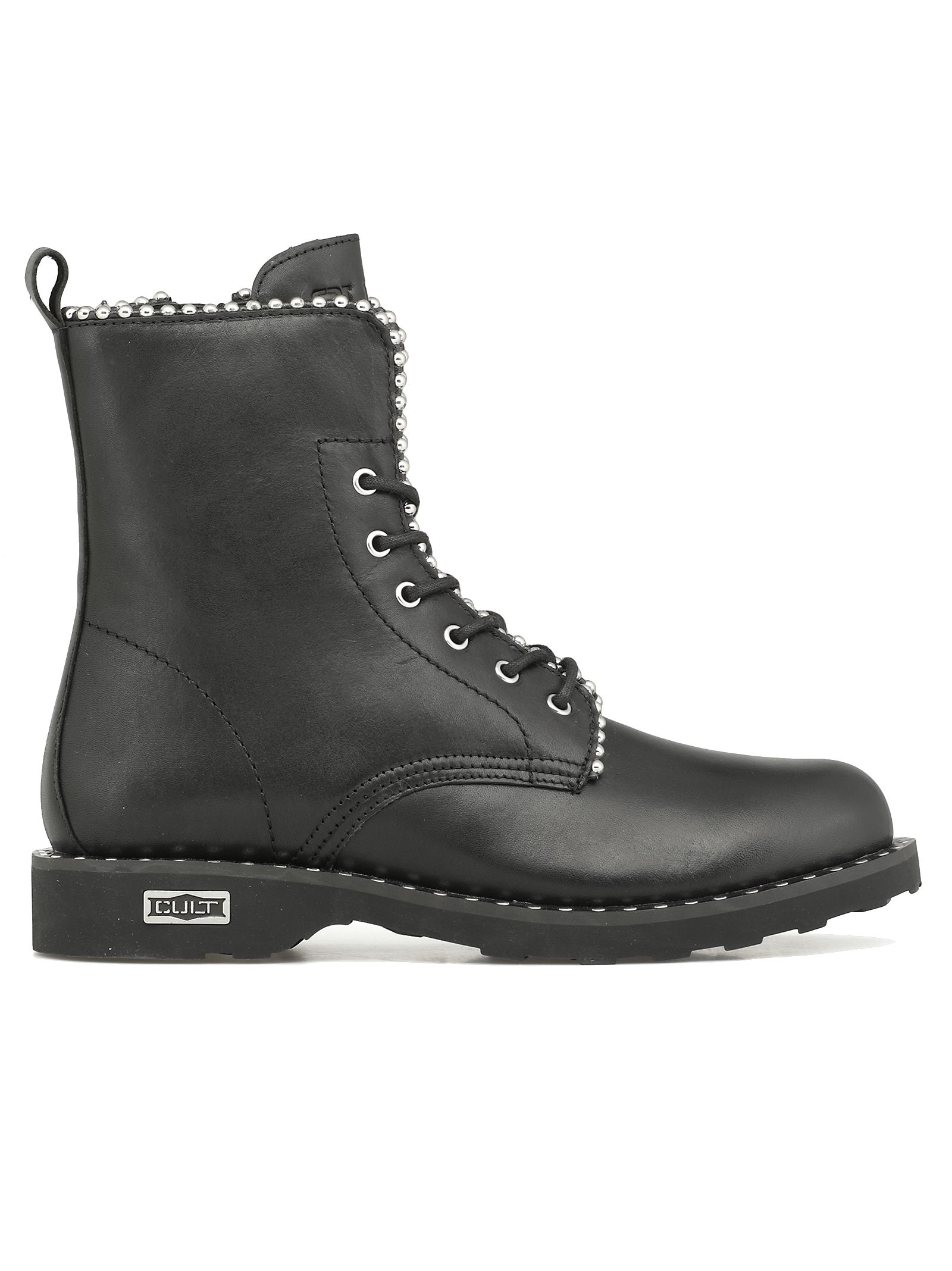 CULT Zeppelin Mid 2662 Army Boot in Black