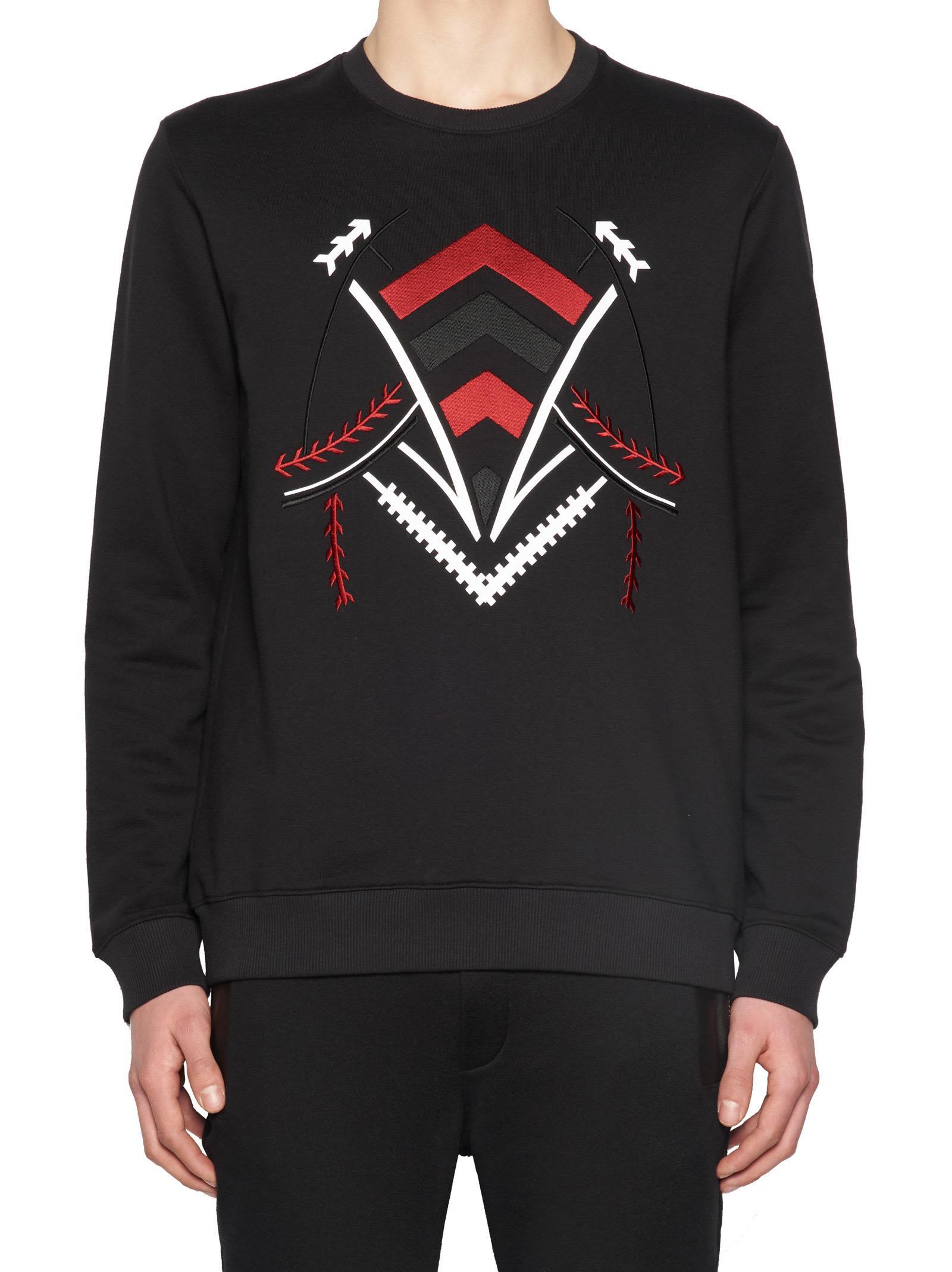 Les Hommes 'tribal' Sweatshirt