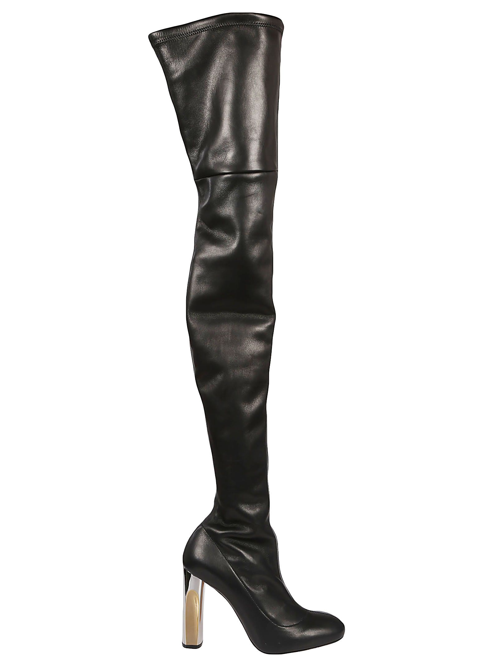 alexander mcqueen -  Block Heel Over-the-knee Boots