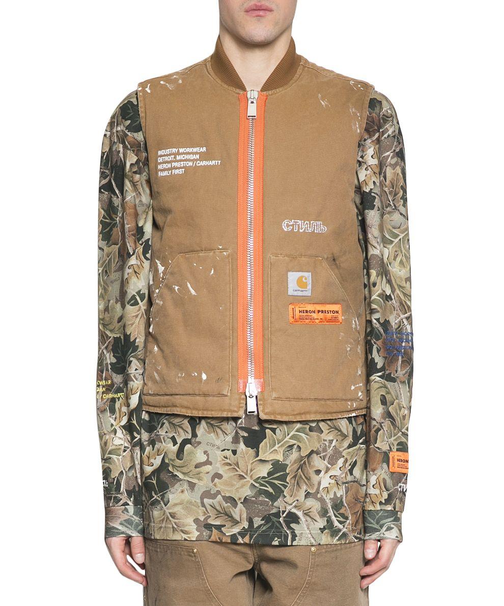 HERON PRESTON Carhartt Cotton Vest