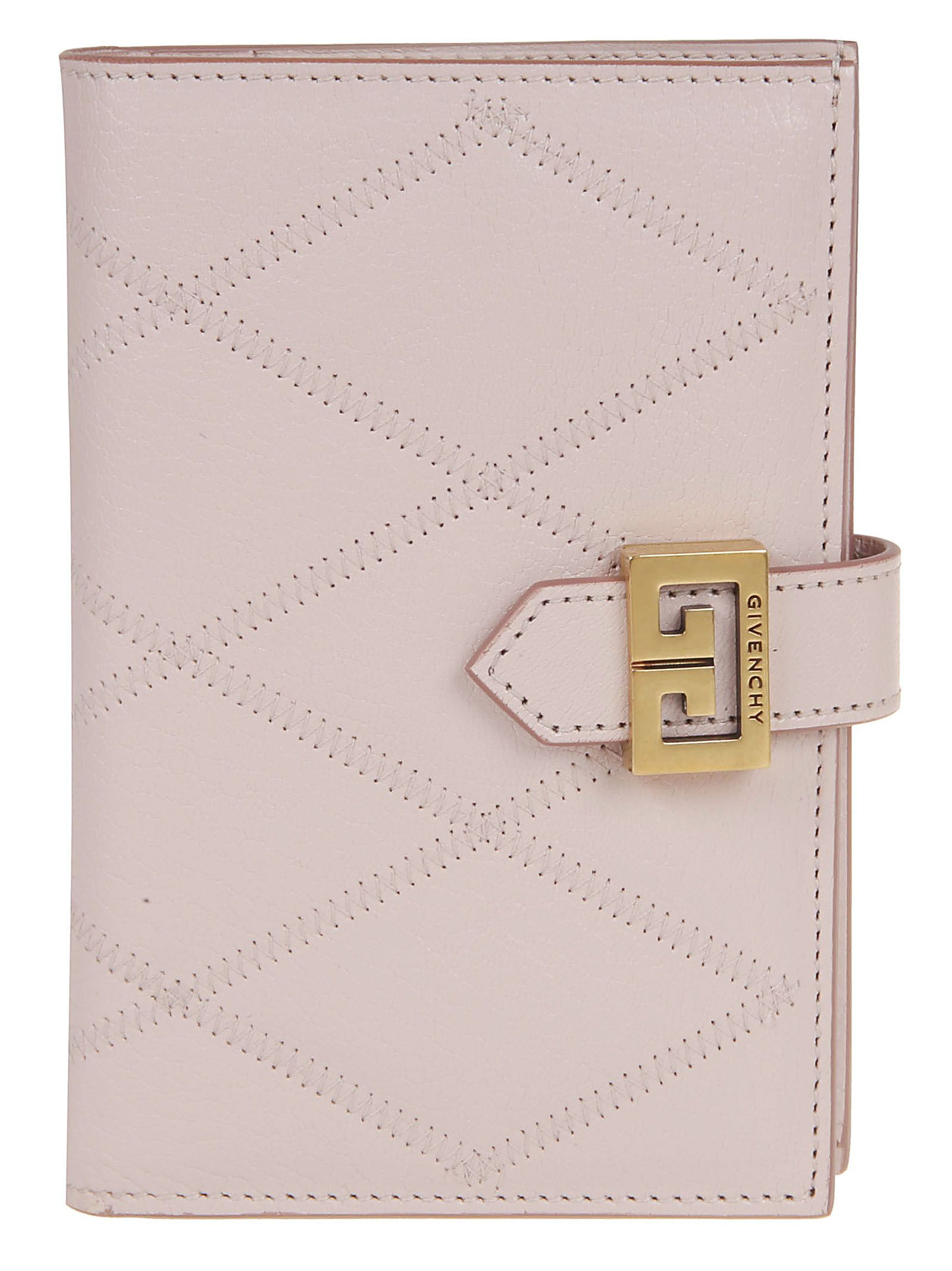 Givenchy Quilted Flap Wallet