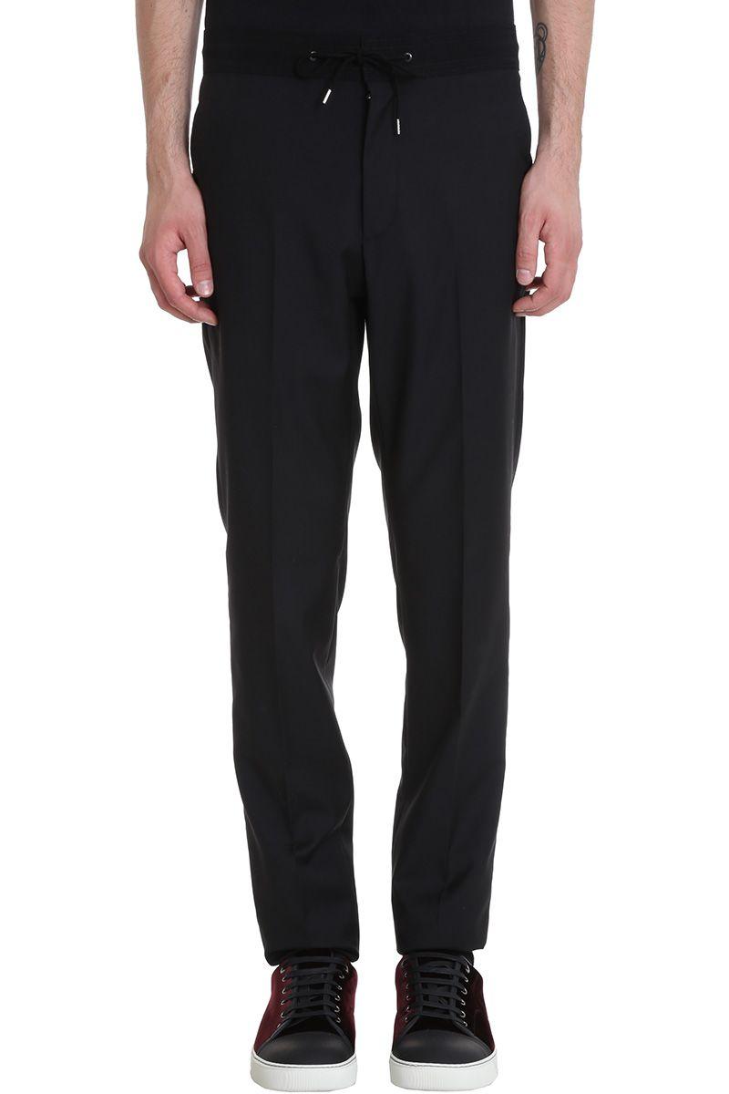 Lanvin Black Cotton Pants