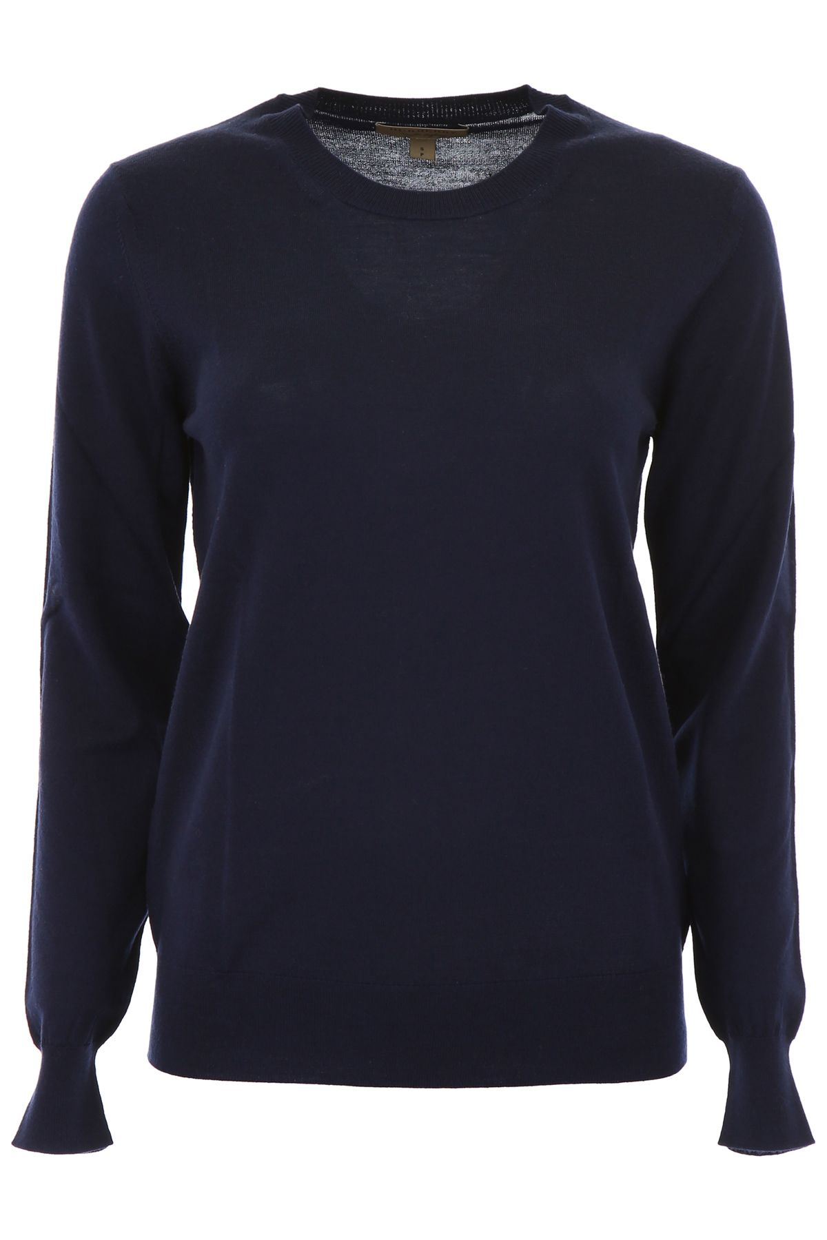 Burberry Wool Pullover With Tartan Details