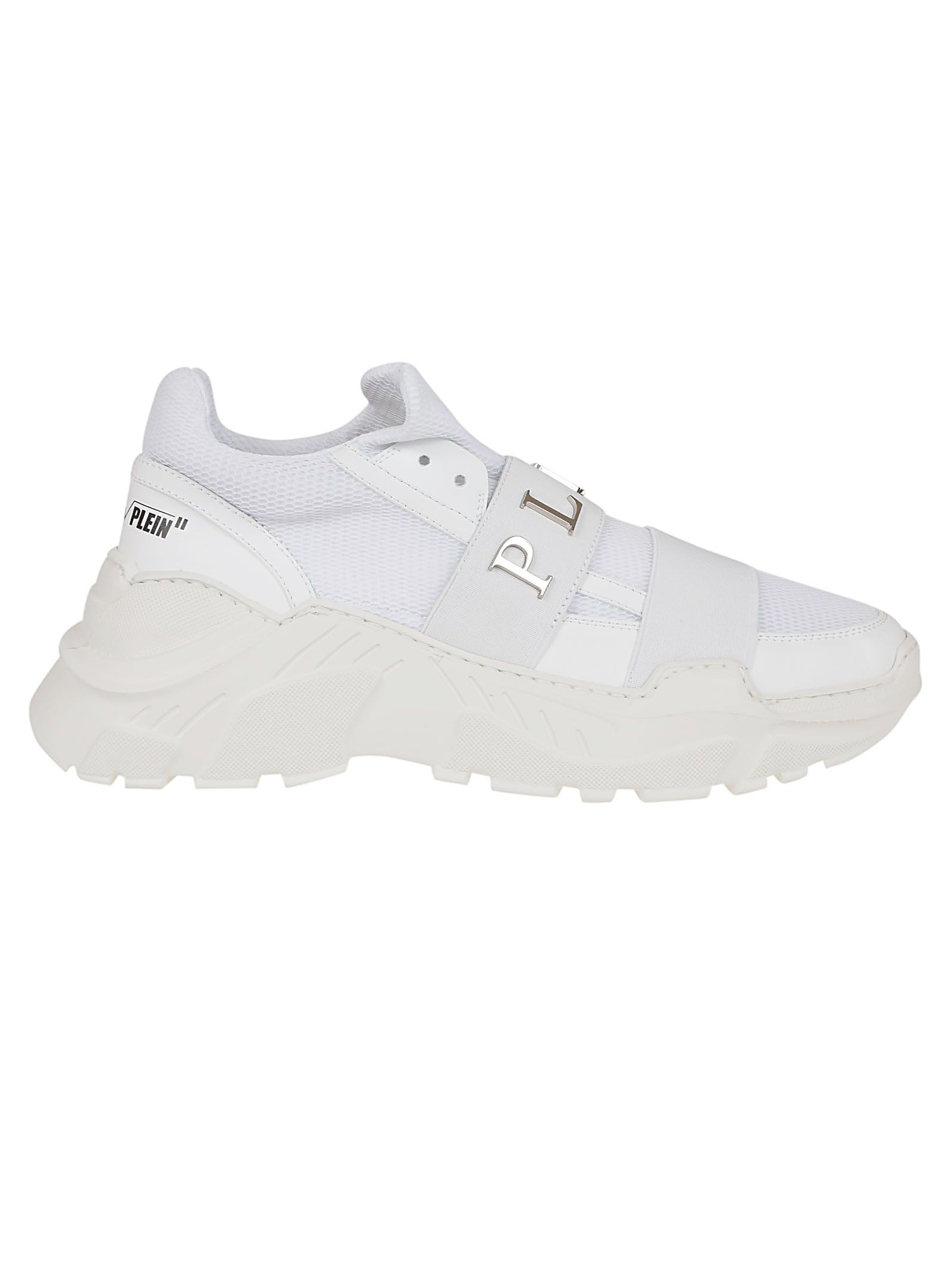 3cd6381477d Philipp Plein Philipp Plein Runner Statement Slip-on Sneakers ...
