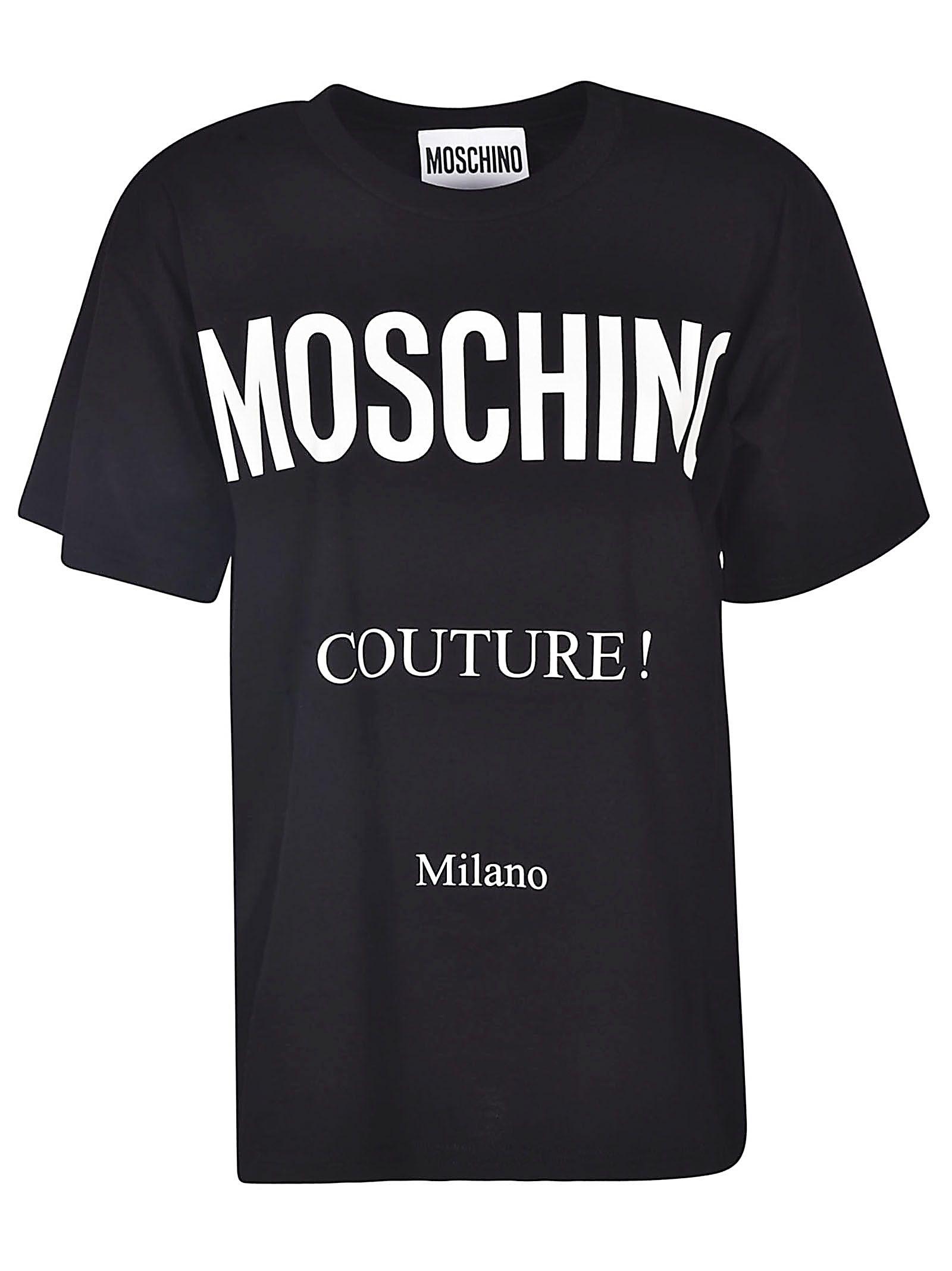 0c5d36451c0e6 Moschino Moschino Logo Print T-shirt - Black - 10809349 | italist