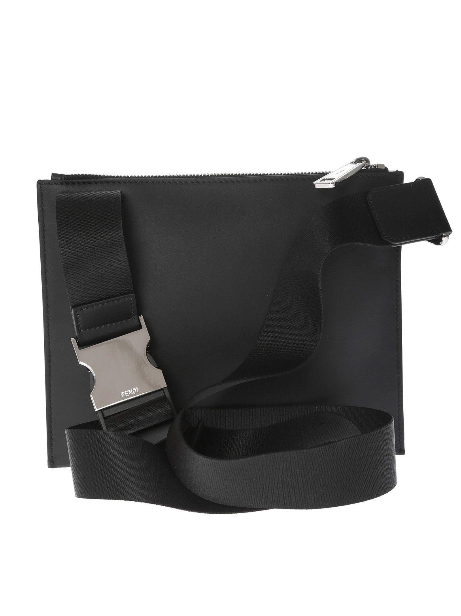 6cb952c14b59 Fendi Logo Monogram Shoulder Bag Fendi Logo Monogram Shoulder Bag ...