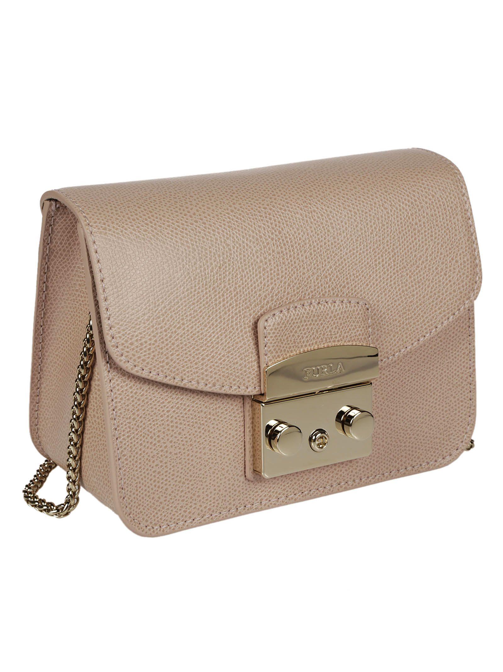 6a64995d30b6f Furla Furla Metropolis Mini Shoulder Bag - Moonstone - 10841136 ...
