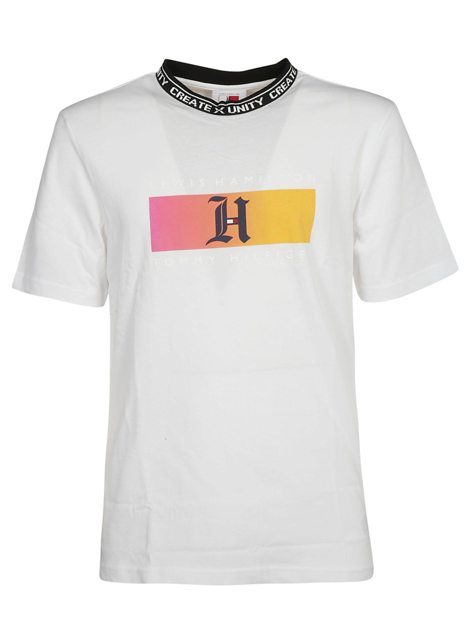 6e2f2fa3d Tommy Hilfiger Tommy Hilfiger Lewis Hamilton Ombre Monogram T-shirt ...