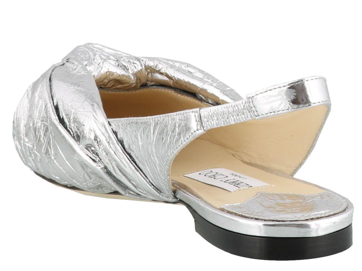 487f068a25e Jimmy Choo Jimmy Choo Annabell Flat - Silver - 10826747