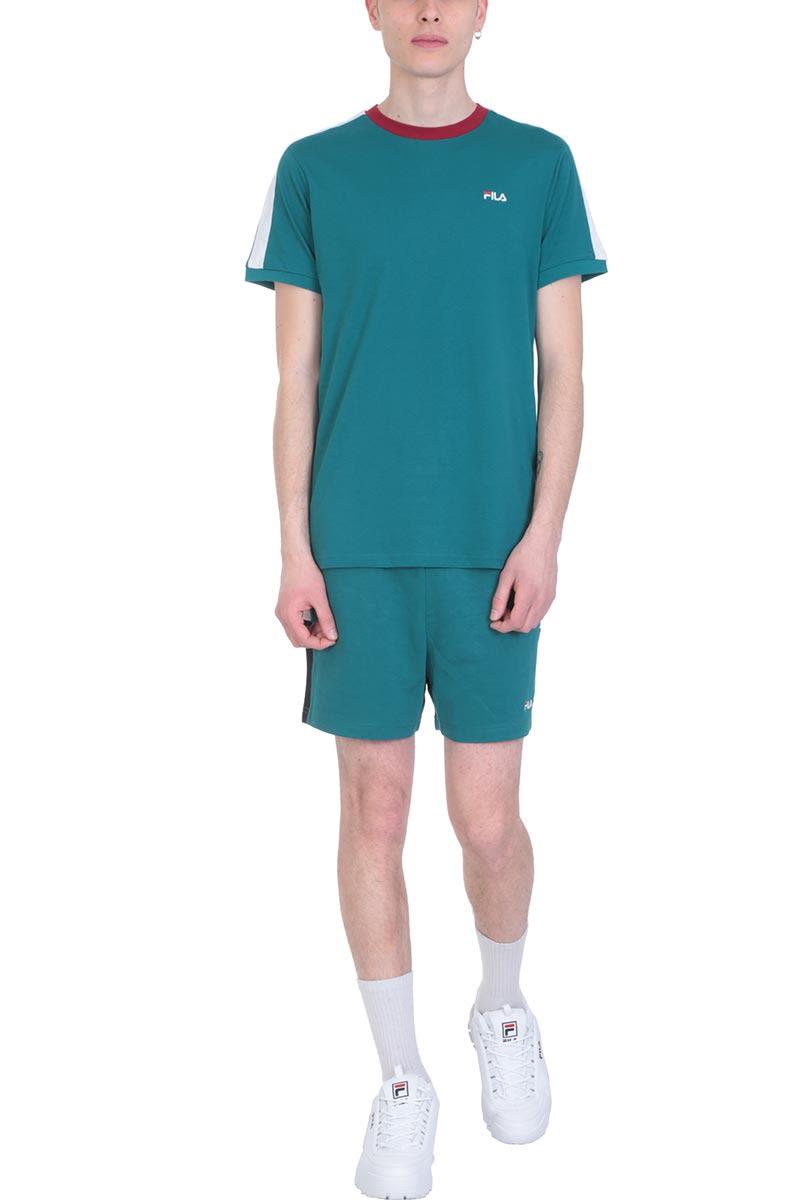 cdf49cf5b291 Fila Fila Green Cotton Carlos Short - Green - 10920988