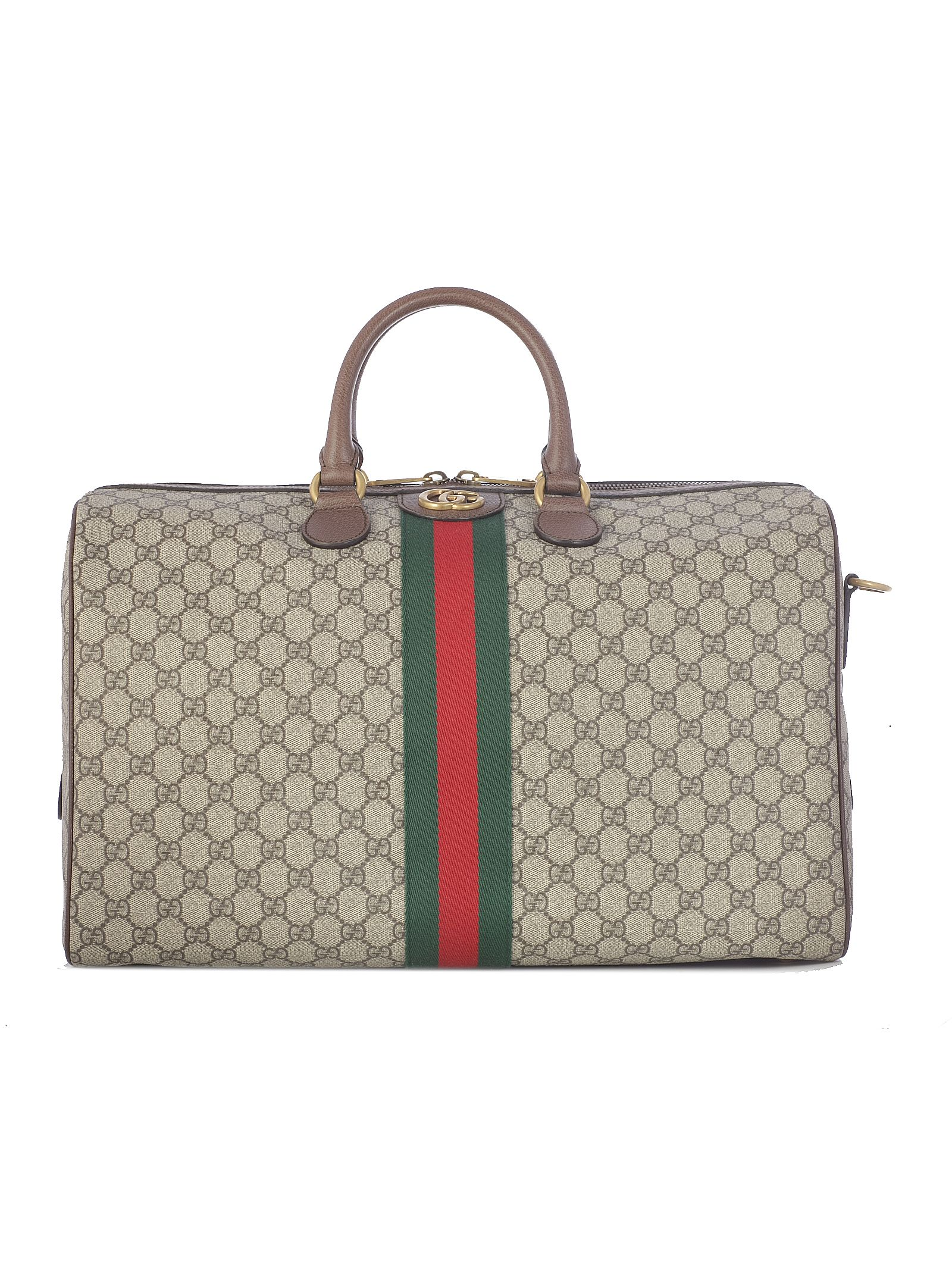 bce13327cff5 Gucci Gucci Ophidia Gg Holdall - Beige Ebony Acero - 10801459