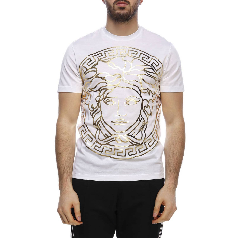 eb0c3d856d60 Versace Versace T-shirt T-shirt Men Versace - White - 10783144