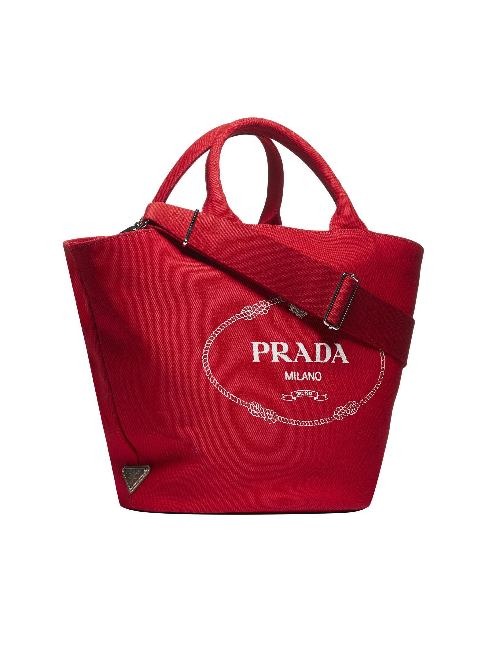 ec5858db72ef Prada Giardiniera Shopper Bag - Rosso Prada Giardiniera Shopper Bag - Rosso  ...