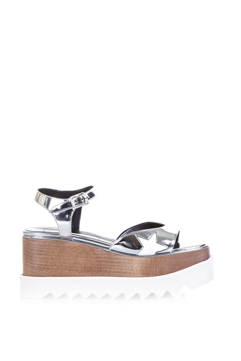 b56b4f845c9f Stella McCartney Stella McCartney Elyse Faux Metallic Leather ...