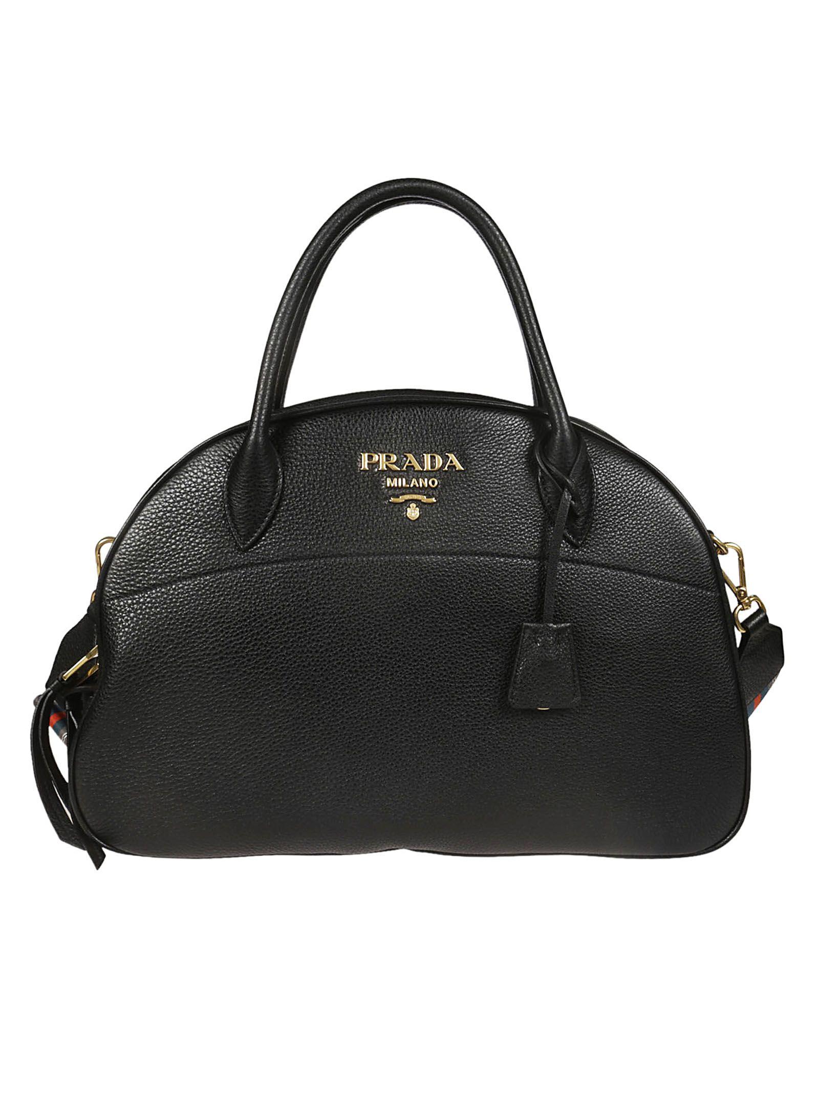7973dff66a11 Prada Prada Classic Logo Tote - Black - 10831145