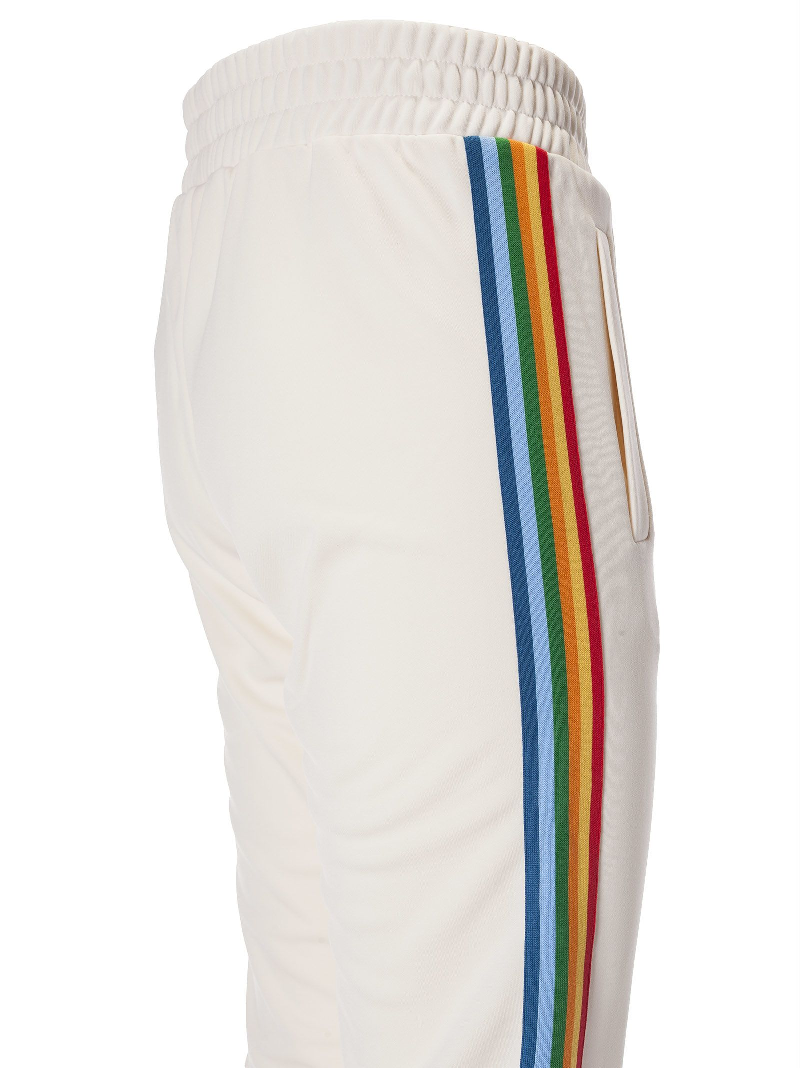 Palm Angels Palm Angels Rainbow Stripe Track Pants Basic