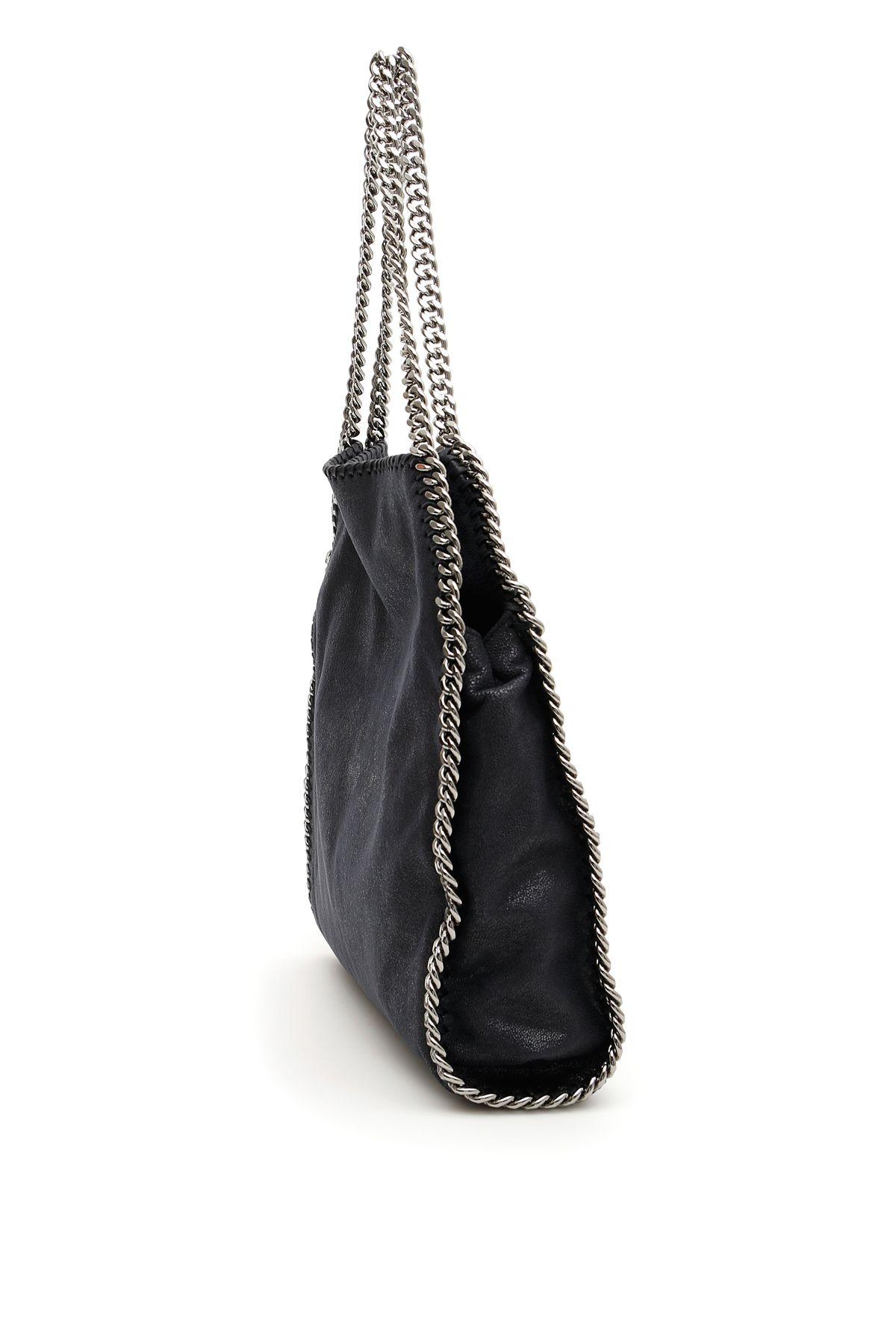 8b169b4a583ea ... Stella McCartney Small Falabella Tote Bag - NAVY