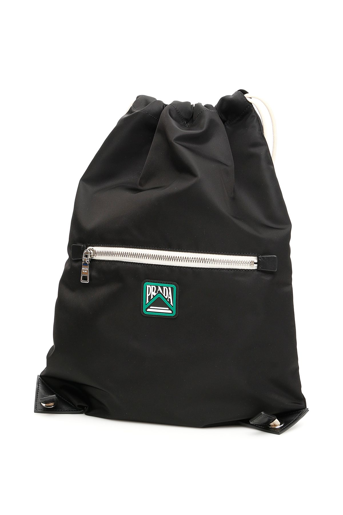 b04582644dfc74 Prada Prada Backpack With Logo Patch - Basic - 10801372 | italist