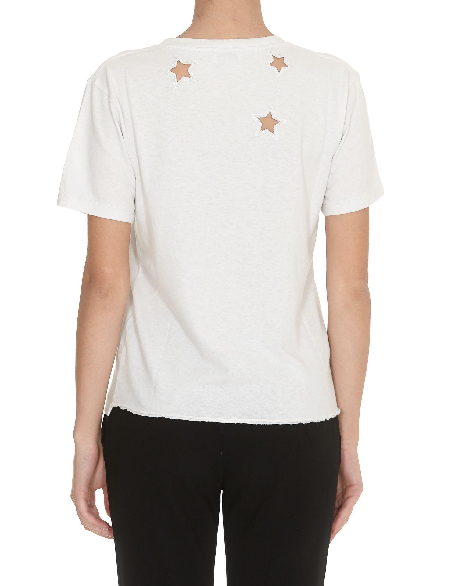 saint laurent saint laurent t shirt off white 10874364. Black Bedroom Furniture Sets. Home Design Ideas