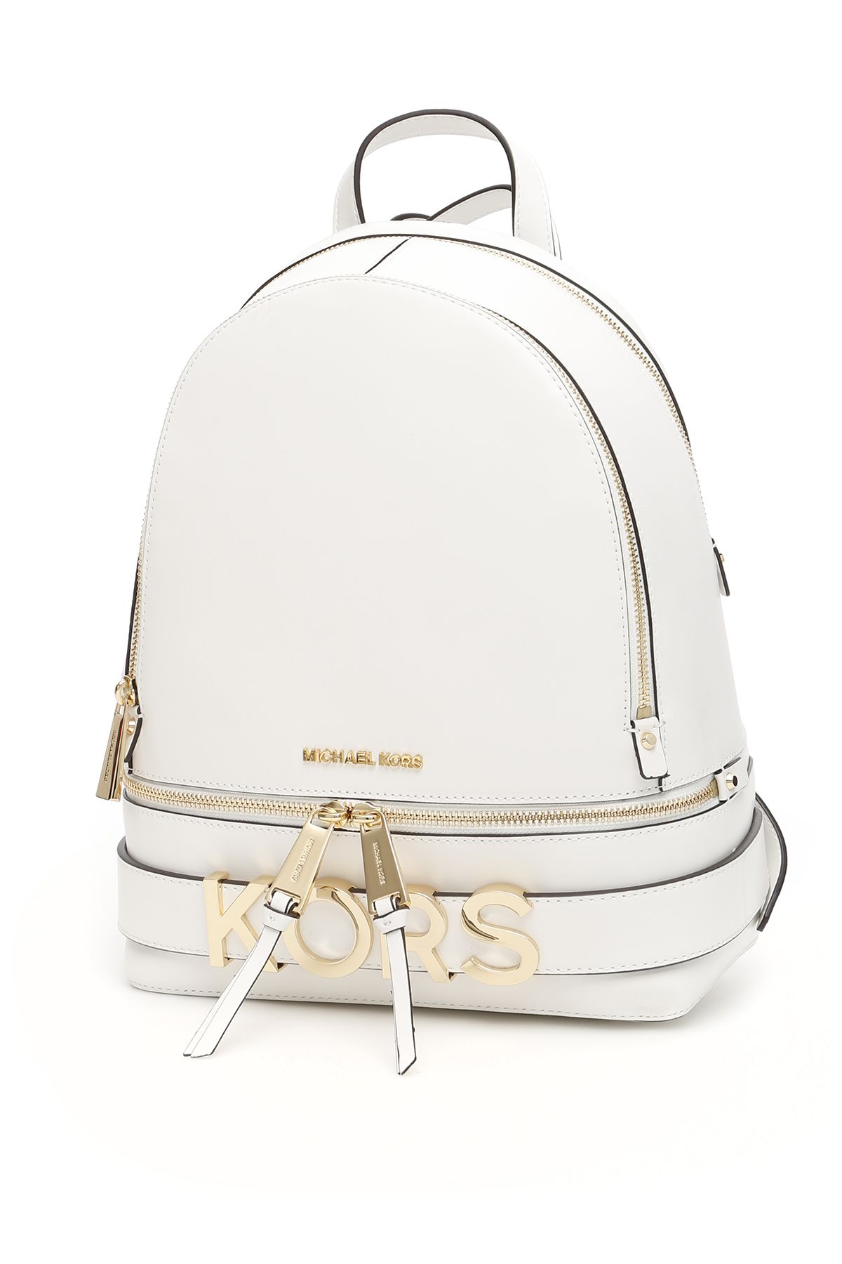 40d6807bfc29 MICHAEL Michael Kors Rhea Lettering Backpack - OPTIC WHITE (White) ...