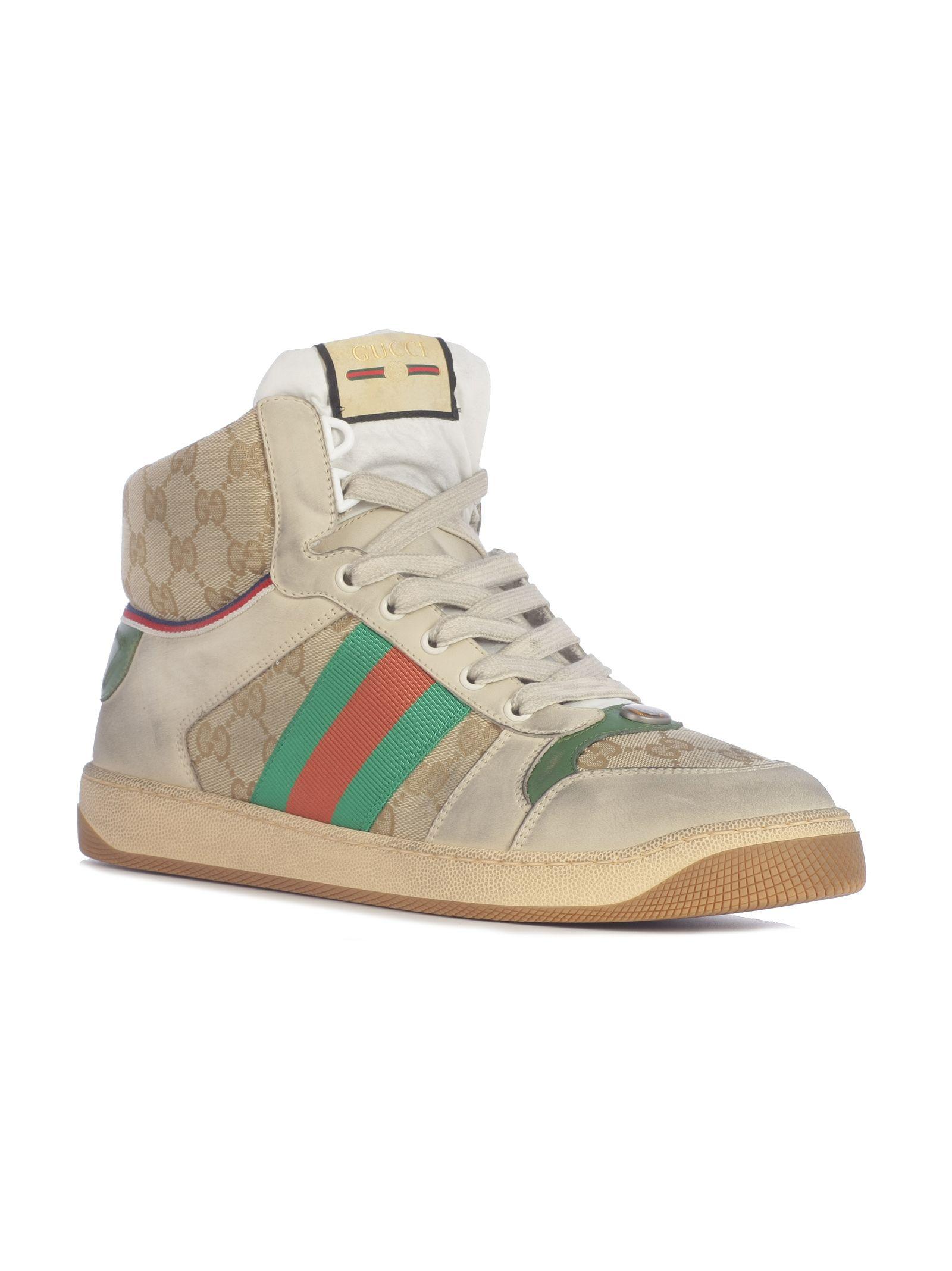 c9f968064bd Gucci Gucci Screener Virtus Gg Hi-top Sneakers - Basic - 10889471 ...
