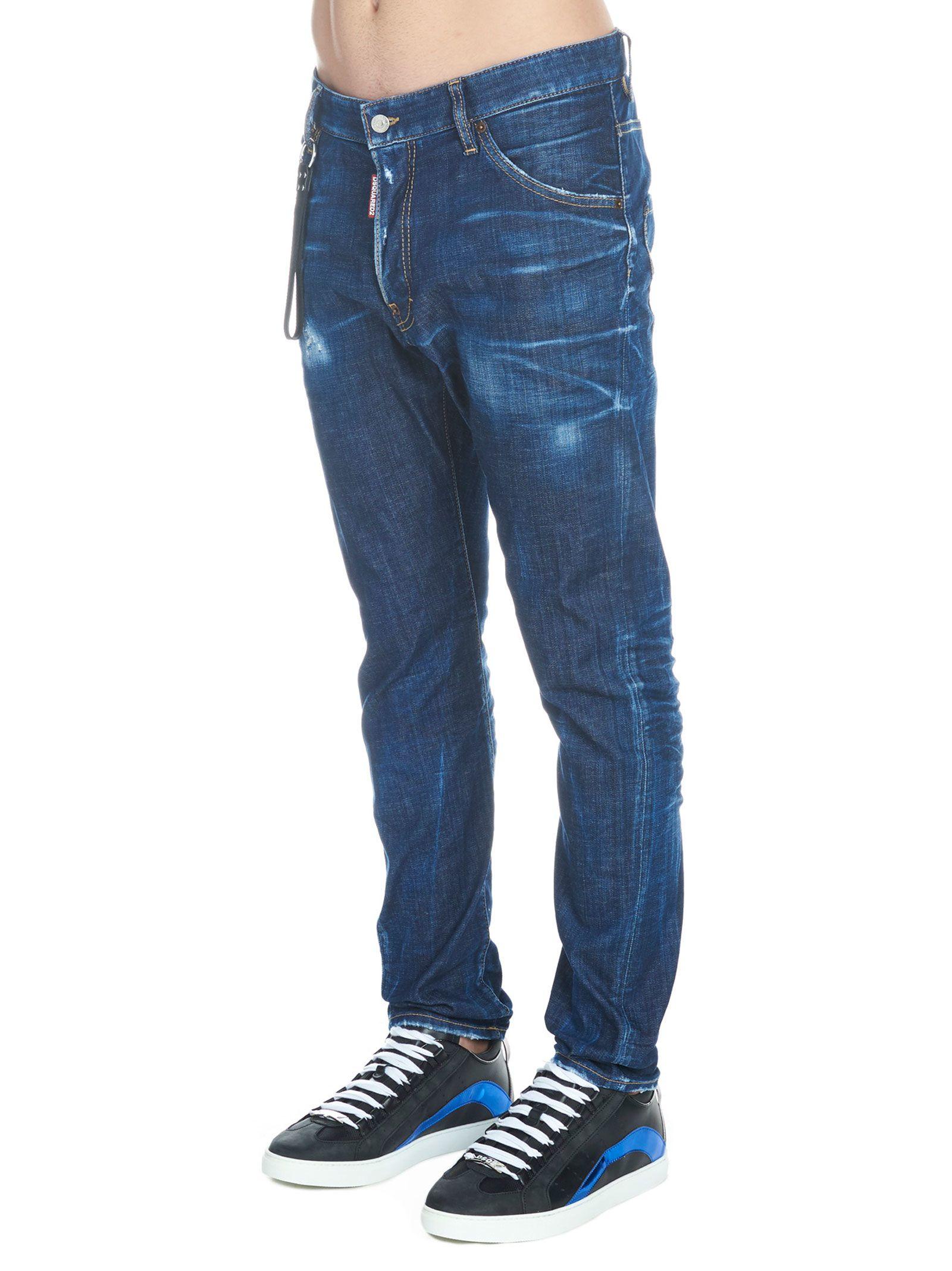 Dsquared2 Dsquared2  classic Kenny Twist  Jeans - Blue - 10801046 ... ad94f5635a8d