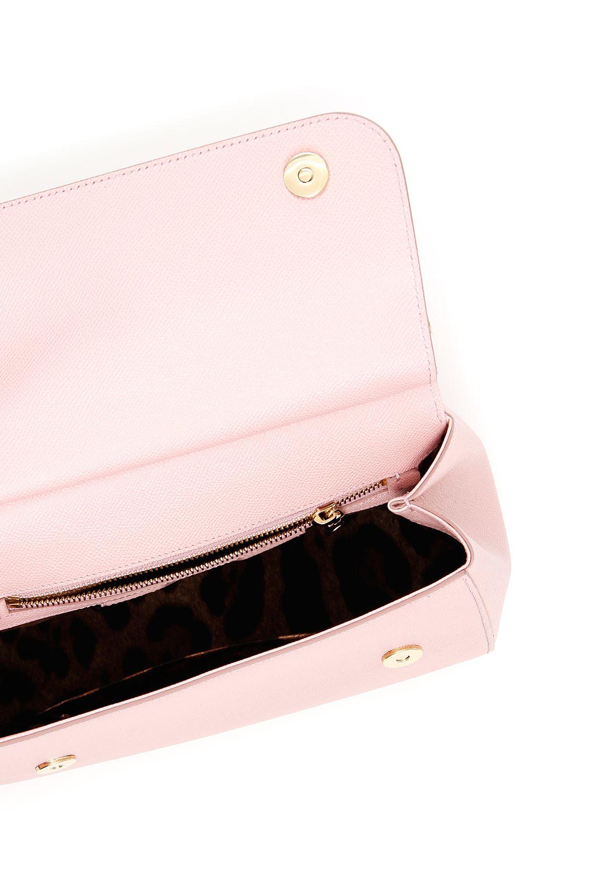 a61e215dabe3 Dolce   Gabbana Dolce   Gabbana Medium Sicily Bag - ROSA CARNE 2 ...