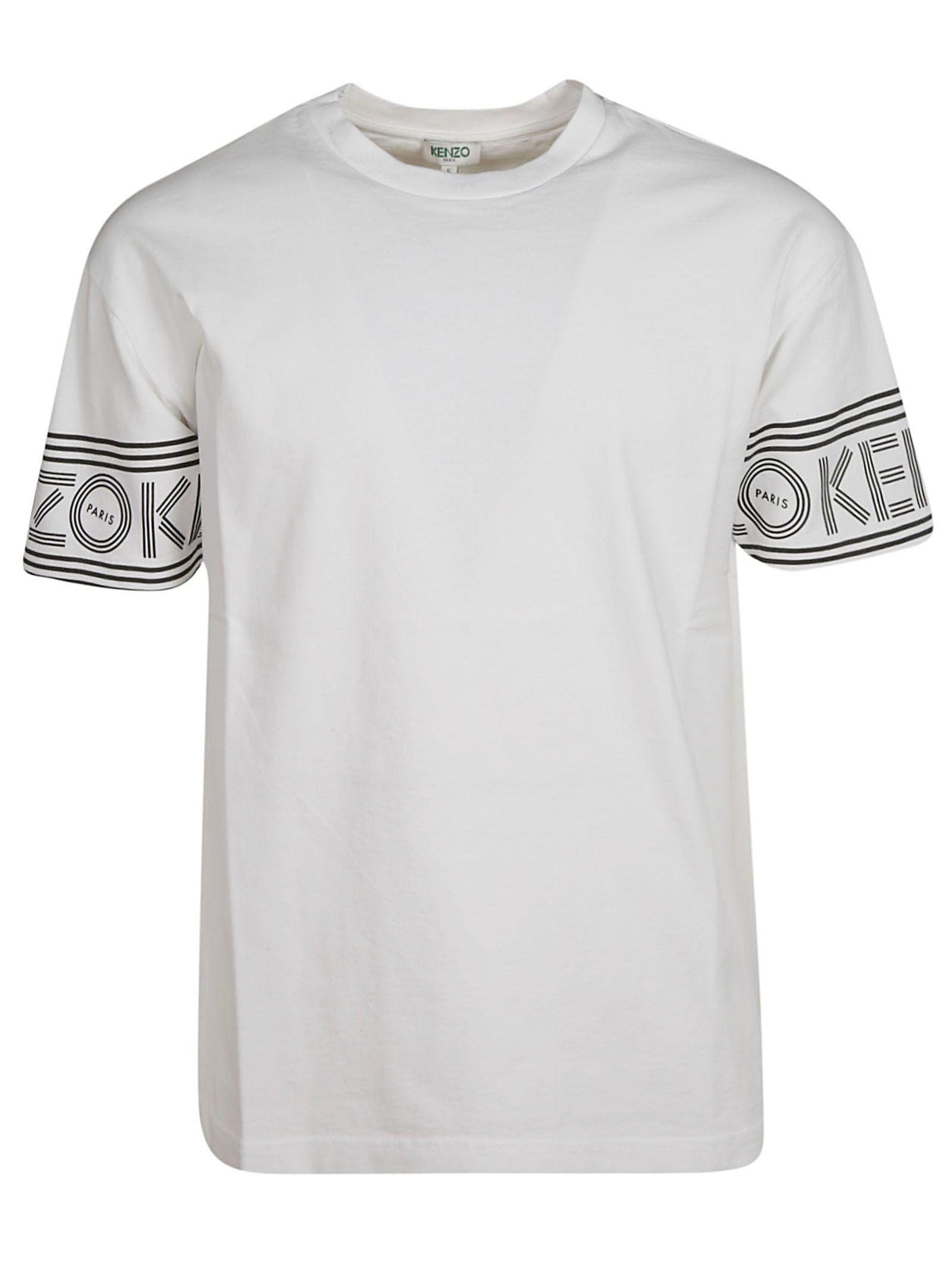 52d8aff2f Kenzo Kenzo Logo Print T-shirt - White - 10856134 | italist