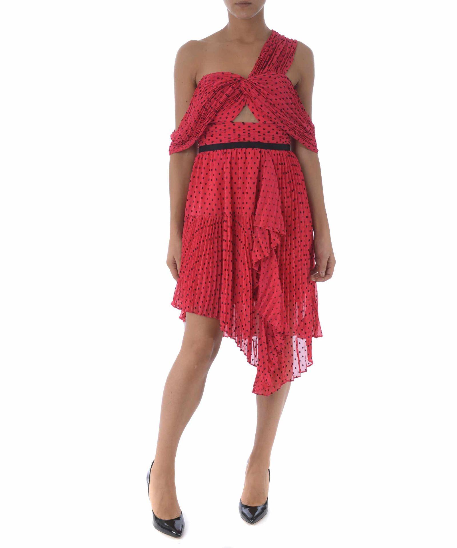de578f8ac76e self-portrait Polka Dot Dress - Rosso - 10760528 | italist