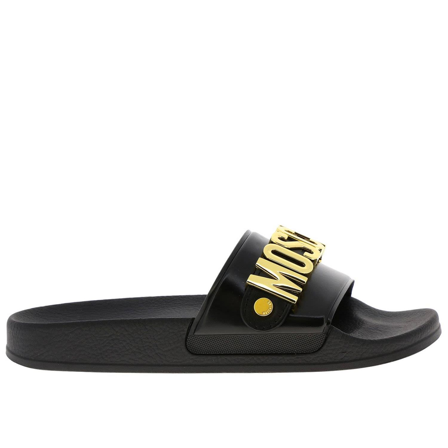 131172ccad7 Moschino Moschino Couture Flat Sandals Shoes Women Moschino Couture ...