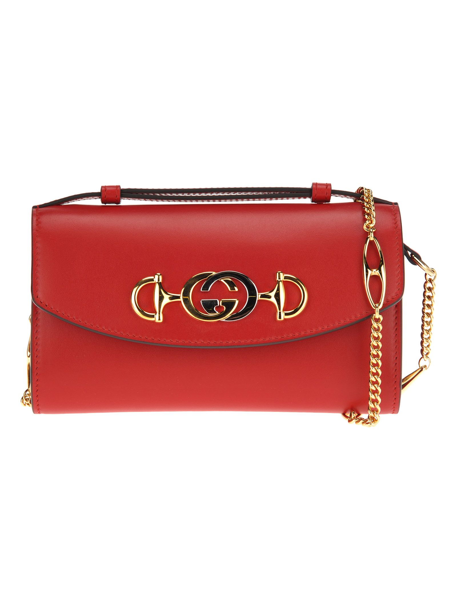 1d242c583d23 Gucci Gucci Gucci Zumi Smooth Leather Mini Bag - RED - 10926511 ...