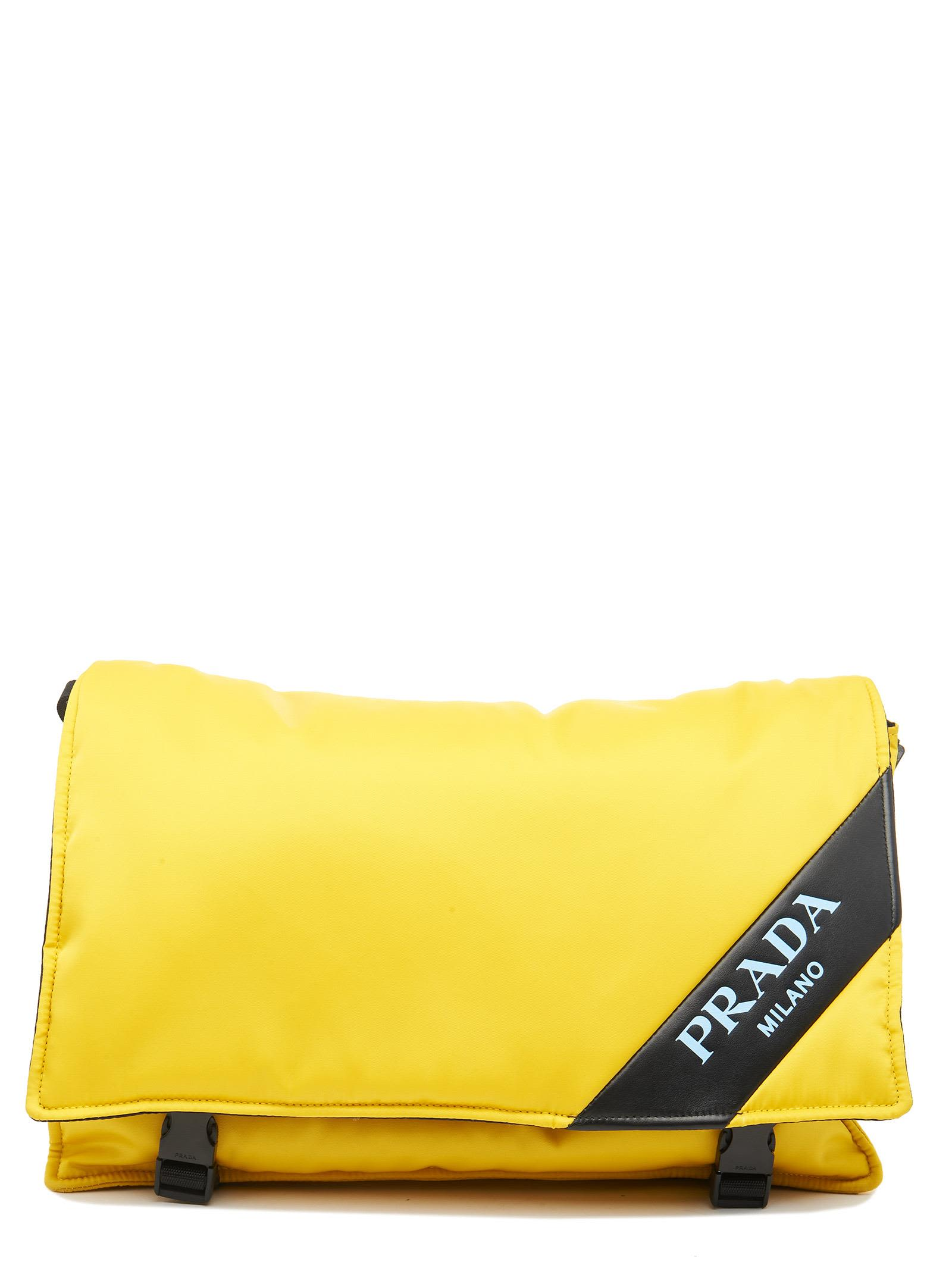 86620917825d Prada Prada 'messenger' Bag - Yellow - 10693696 | italist