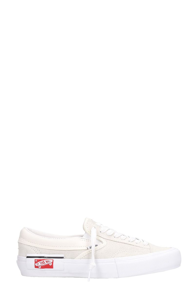 vans vans white suede and fabric slip on cap lx sneakers white Old Ford Mustang vans white suede and fabric slip on cap lx sneakers white