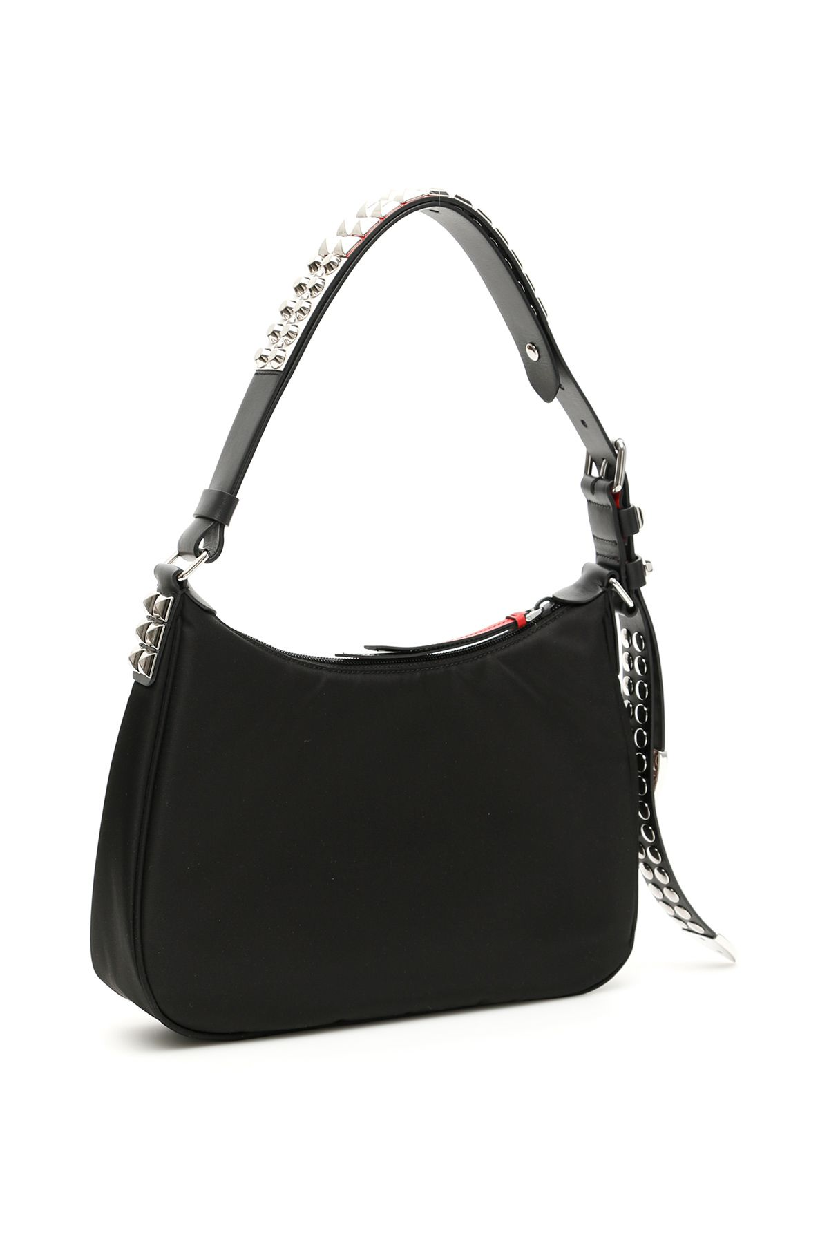 c6f95dc8fac9bb Prada Prada New Vela Hobo Bag - NERO FUOCO (Black) - 10962098 | italist