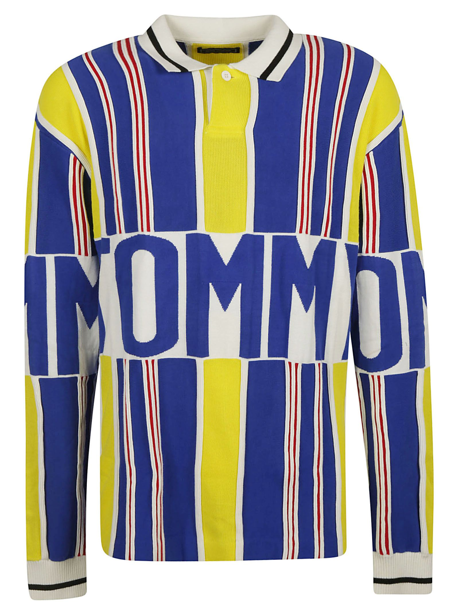 769a376af Tommy Hilfiger Tommy Hilfiger Stripe Logo Polo Jumper - Multicolor ...