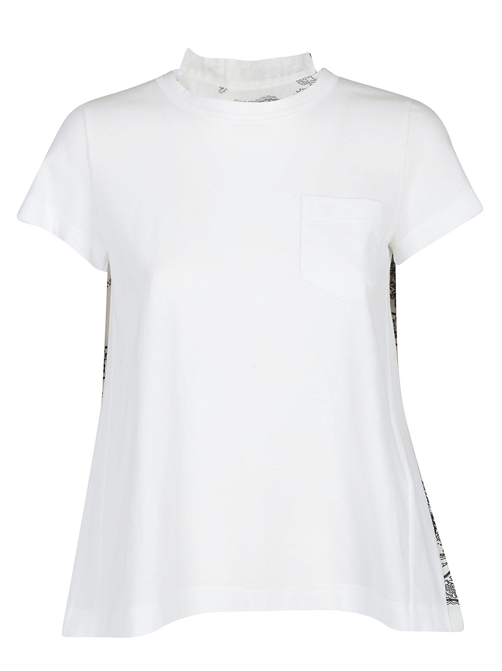 italist Sacai Sacai White price for the Best shirt market T in YYq0wAr e4af07ba37