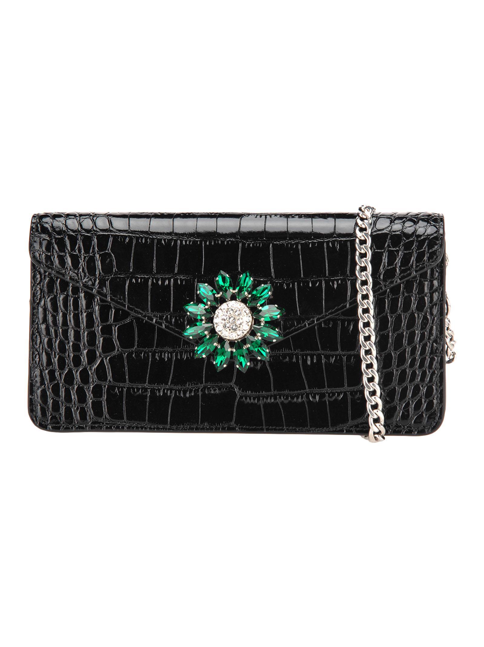 0ddc1deb7f49 Miu Miu Miu Miu Mini Chain Bag - BLACK - 10857204